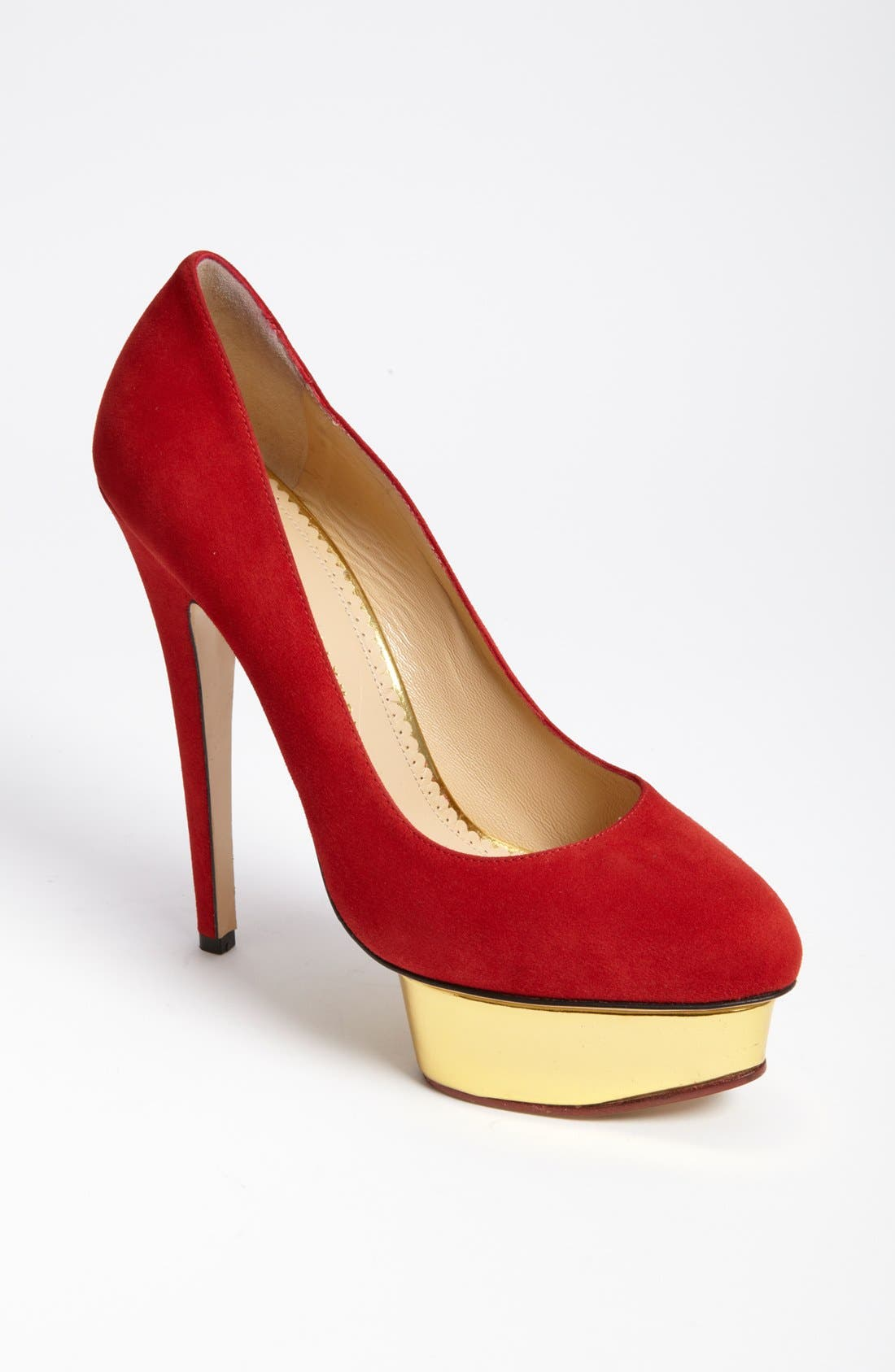 Alternate Image 1 Selected - Charlotte Olympia 'Dolly' Platform Pump