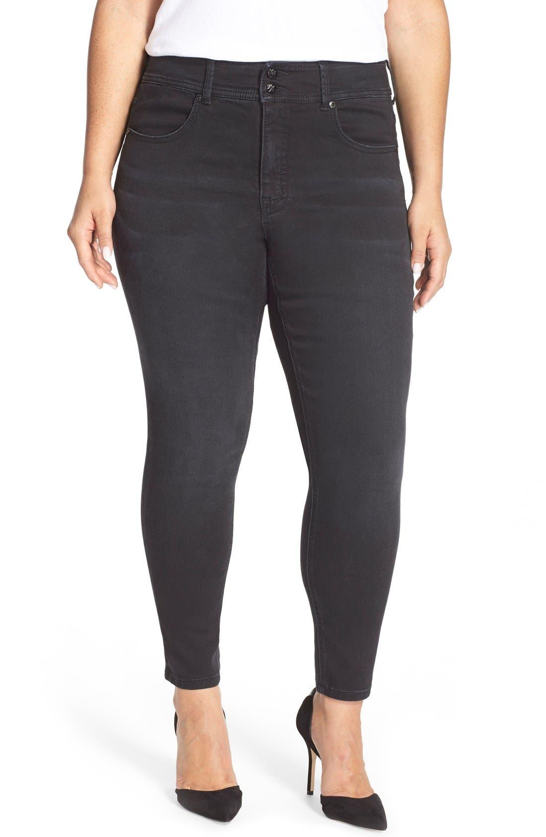 Main Image - Melissa McCarthy Seven7 High Rise Pencil Jeans (Guardian) (Plus Size)