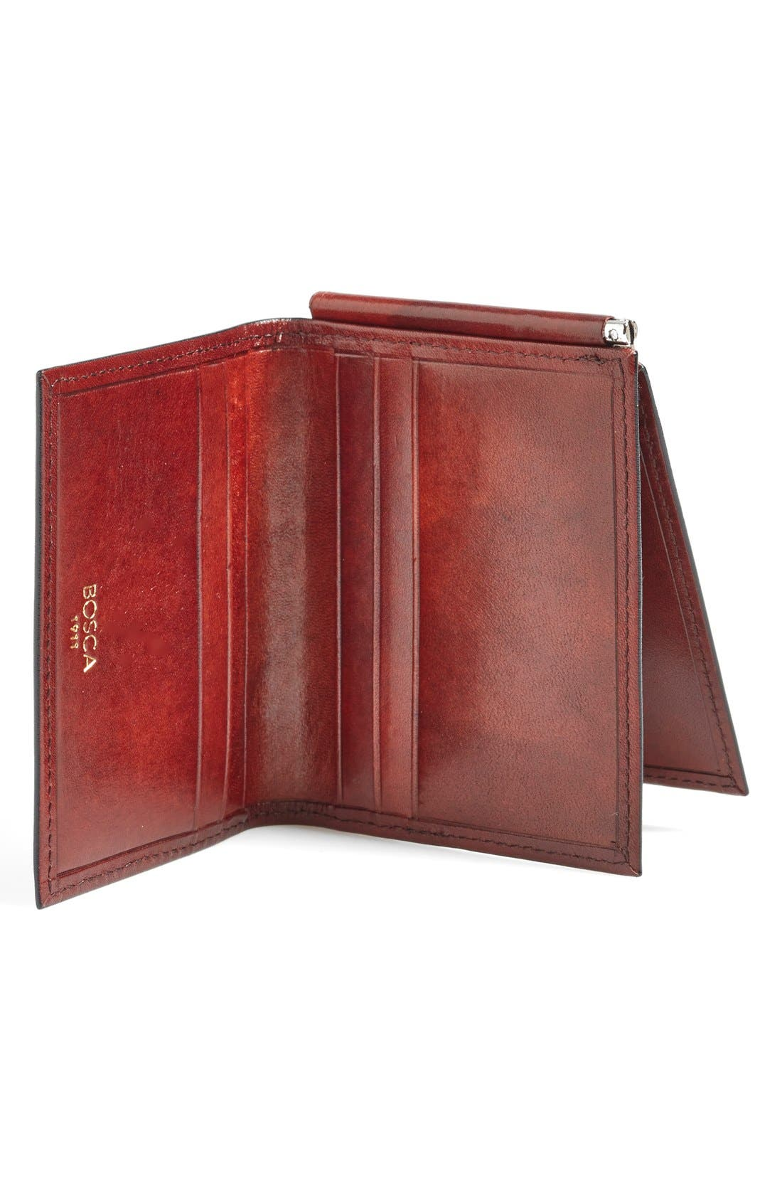 Alternate Image 2  - Bosca 'Old Leather' Money Clip Wallet