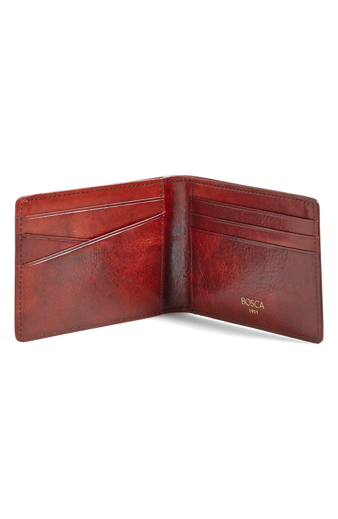 Alternate Image 2  - Bosca Small Bifold Wallet