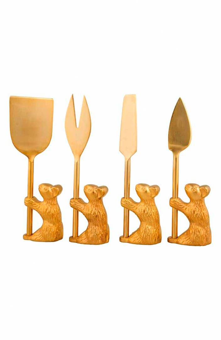 Zestt Guard The Cheese Cheese Knives Set Of 4 Nordstrom