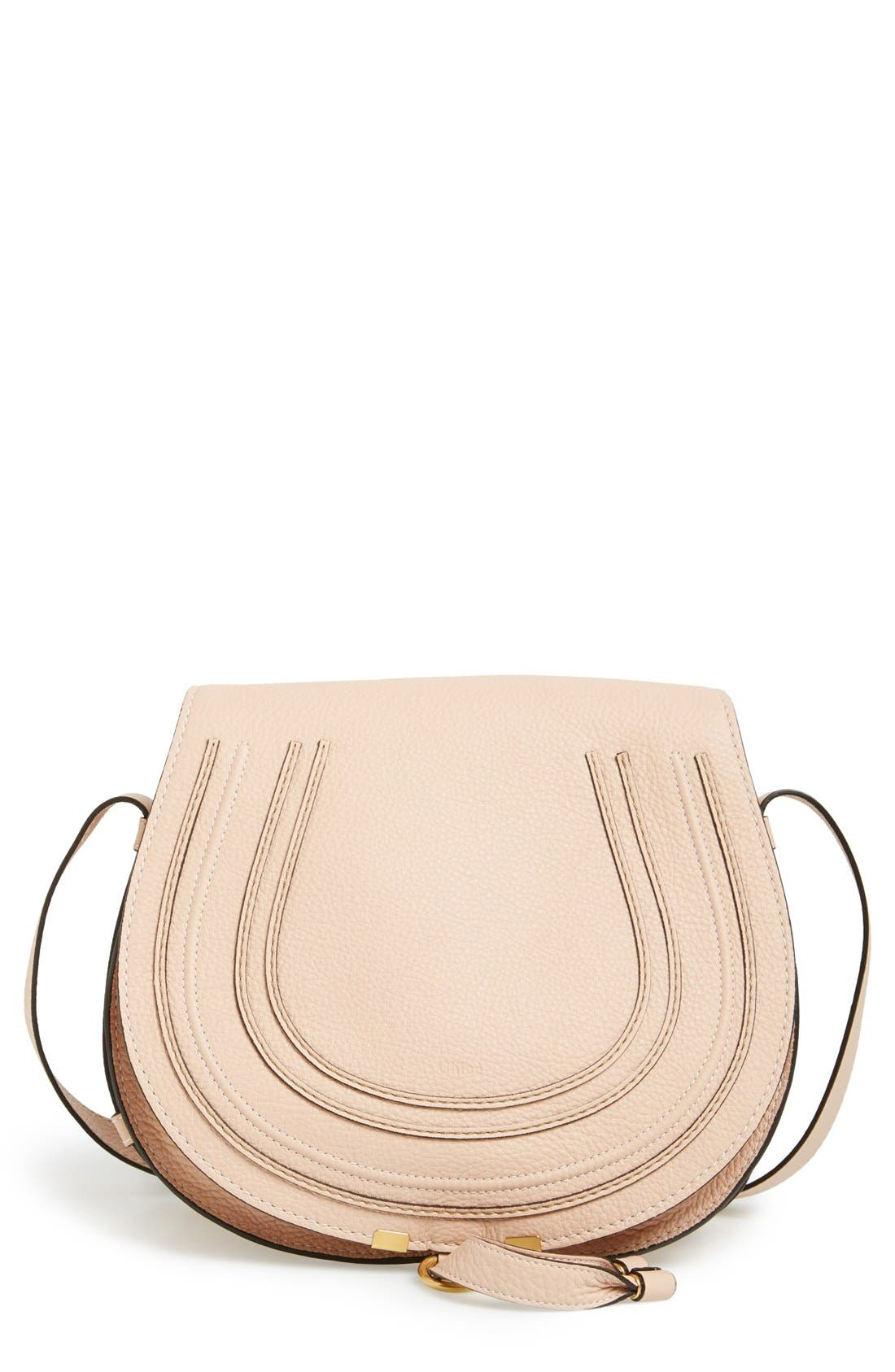 Main Image - Chloé 'Marcie - Medium' Leather Crossbody Bag