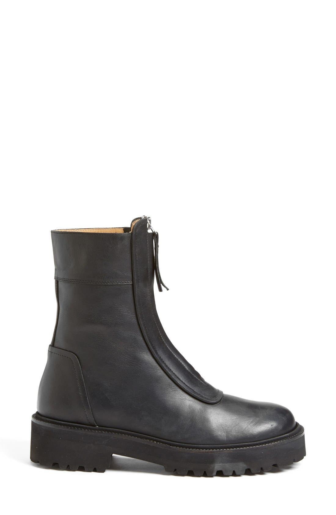 Alternate Image 4  - MM6 Maison Margiela Zip Chelsea Boot (Women)