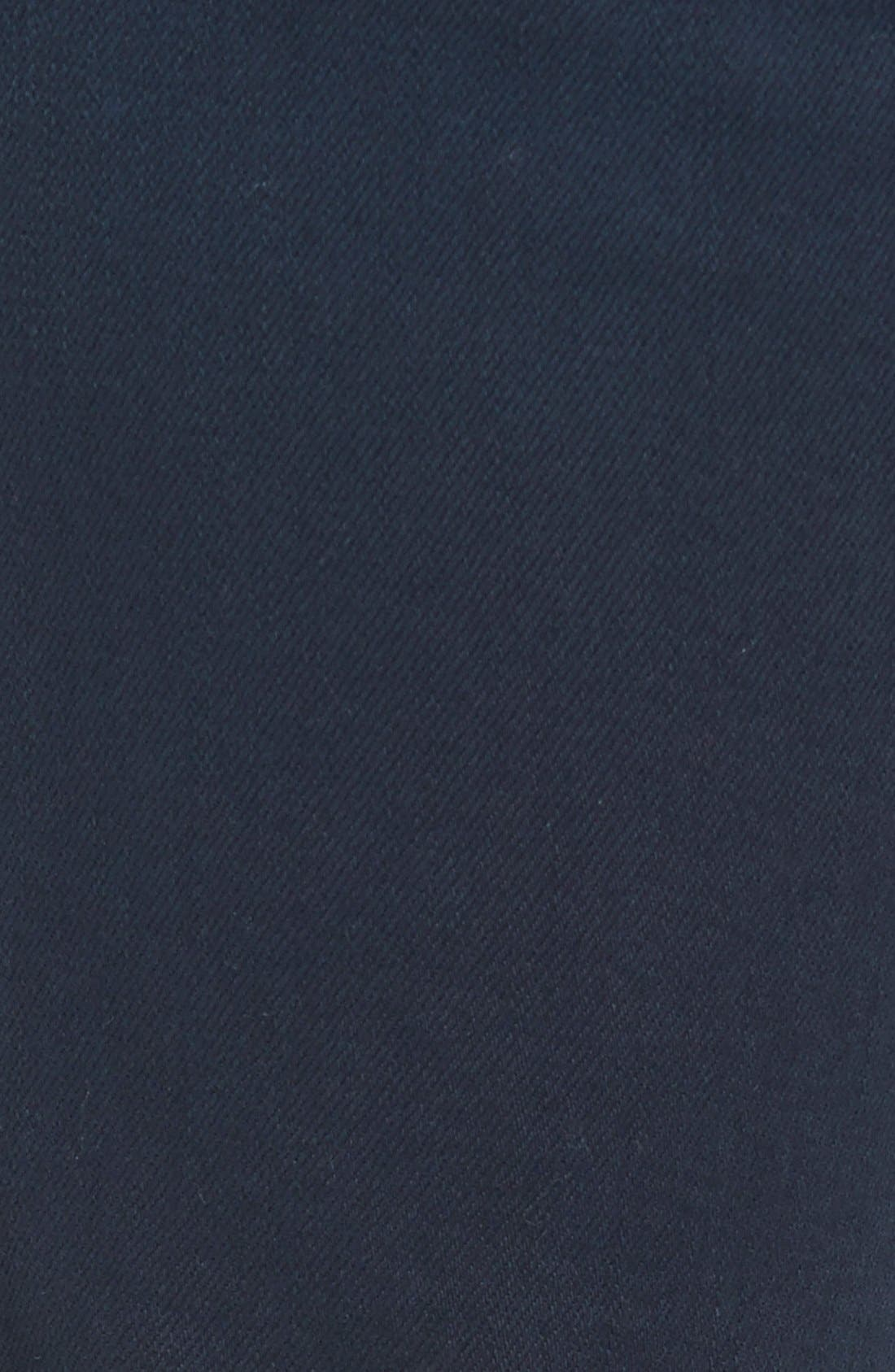 Alternate Image 5  - 7 For All Mankind® 'Slimmy - Luxe Performance' Slim Fit Jeans (Night Navy)