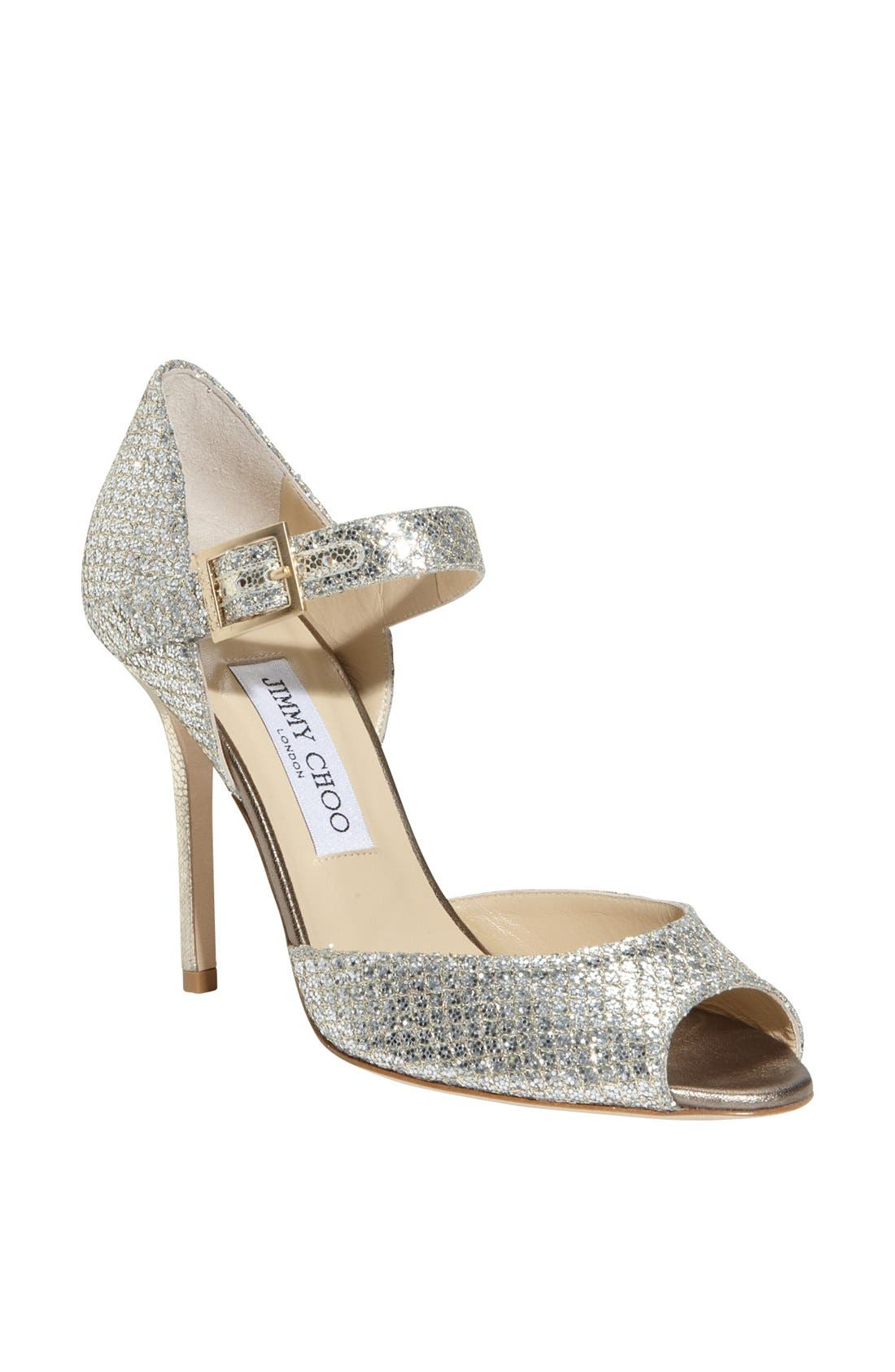 Alternate Image 1 Selected - Jimmy Choo 'Lace' Mary Jane Pump
