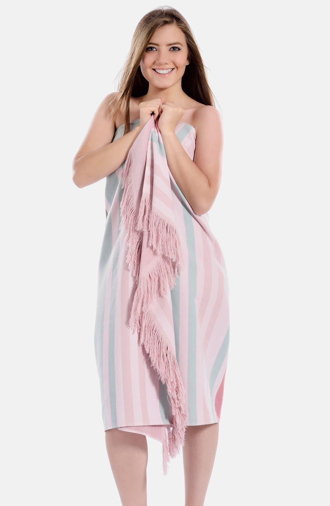 Alternate Image 7  - Linum Home Textiles 'Amalfi' Turkish Pestemal Towel