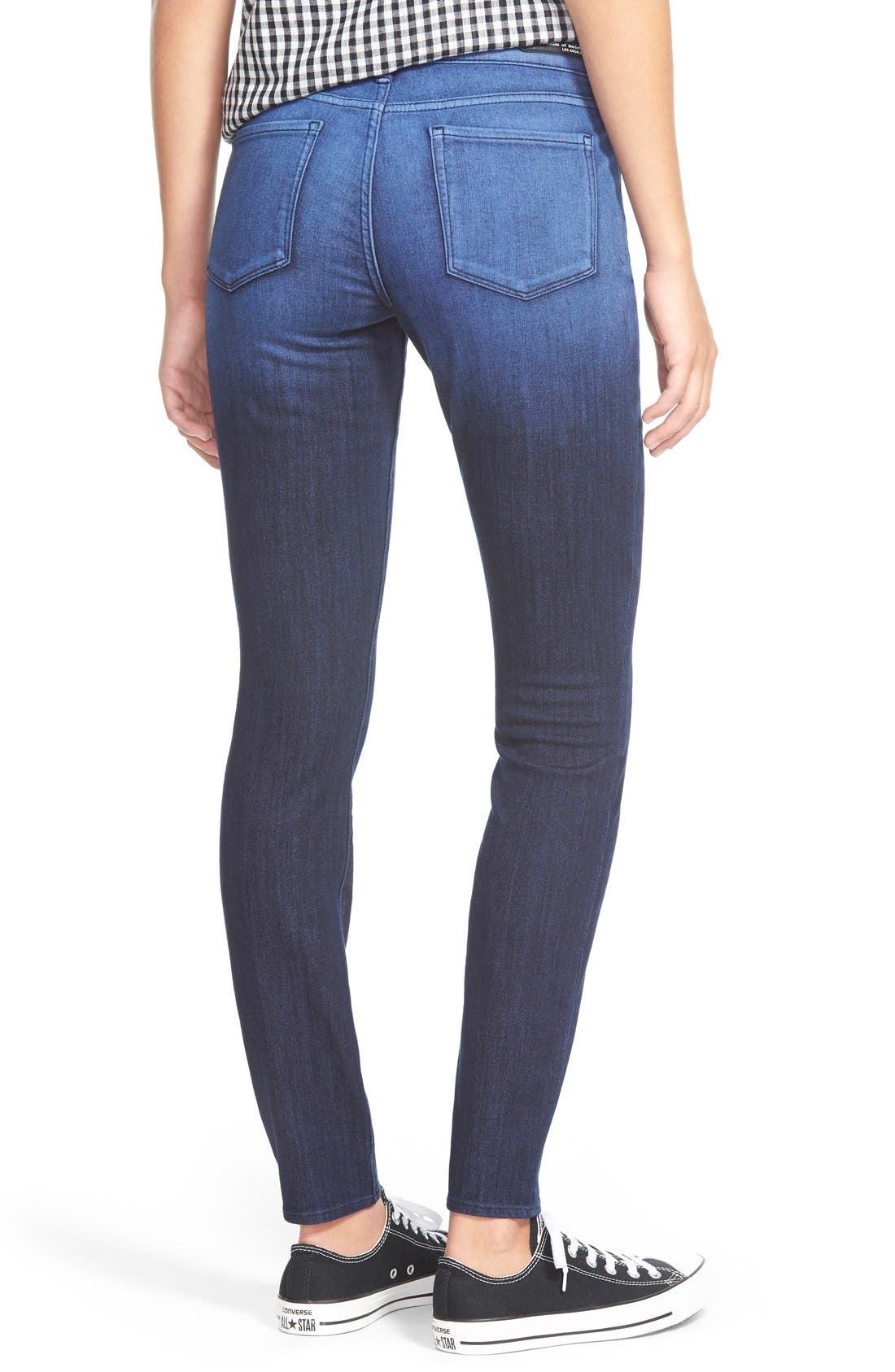 Alternate Image 2  - Articles of Society Red Label 'SoHo' Skinny Jeans (Broadwick)