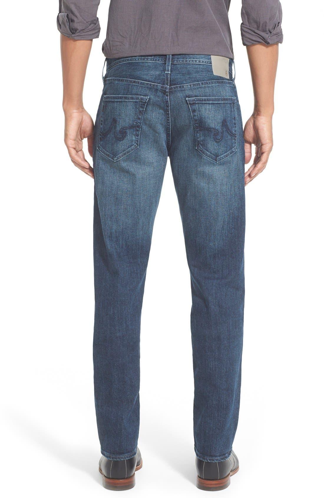 'Graduate' Slim Straight Leg Jeans,                             Alternate thumbnail 2, color,                             Stallow