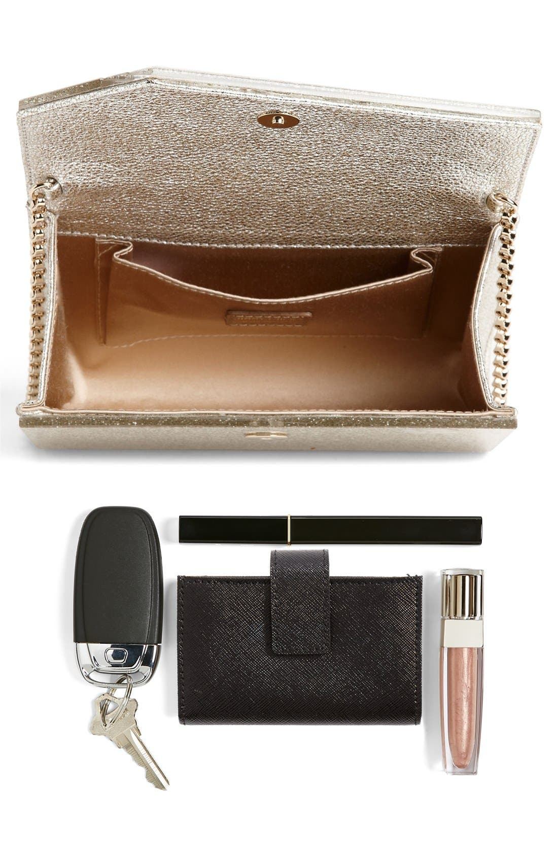 Alternate Image 5  - Jimmy Choo 'Candy - Glitter' Clutch