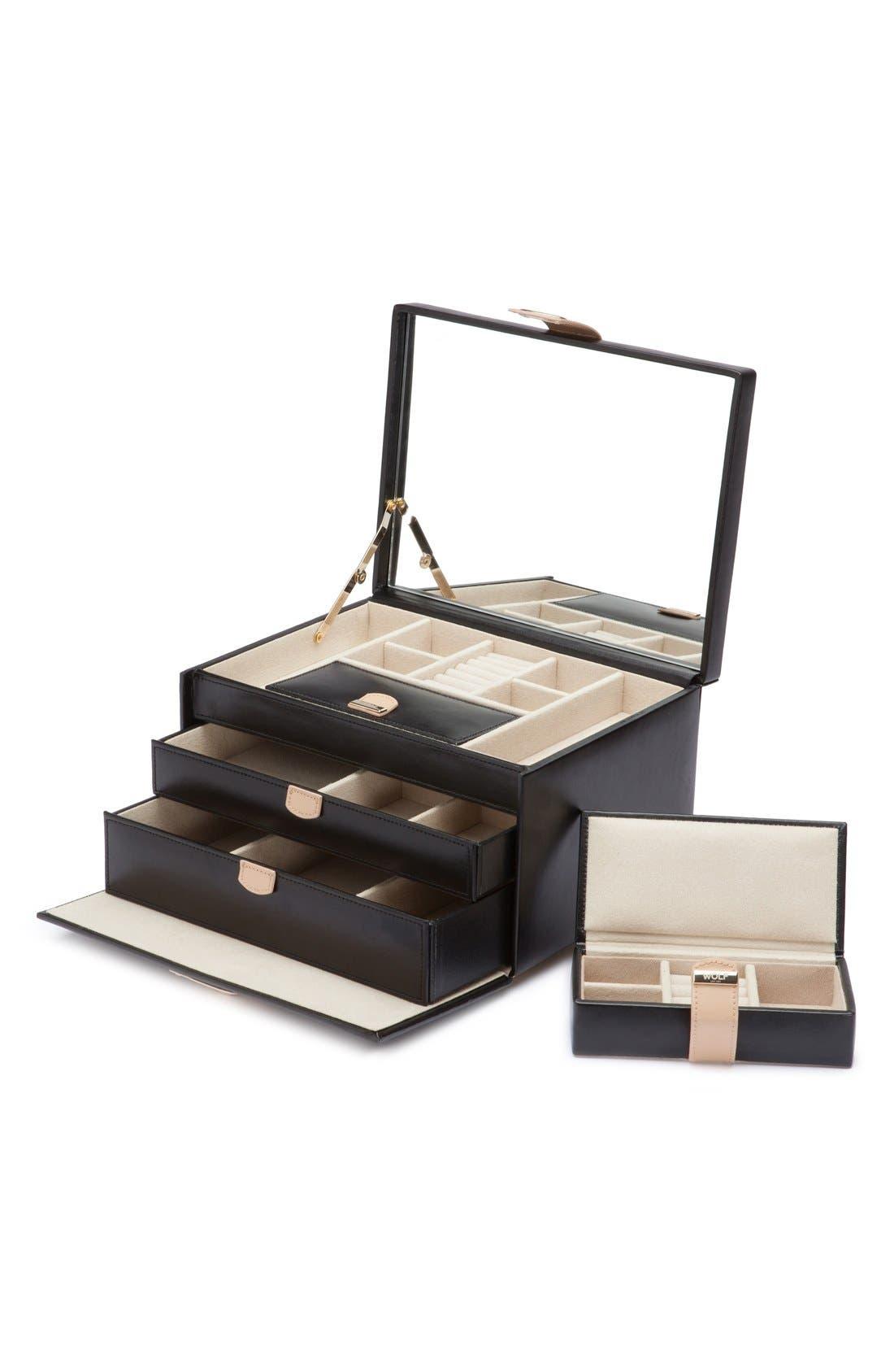Main Image - Wolf 'Chloe' Jewelry Box