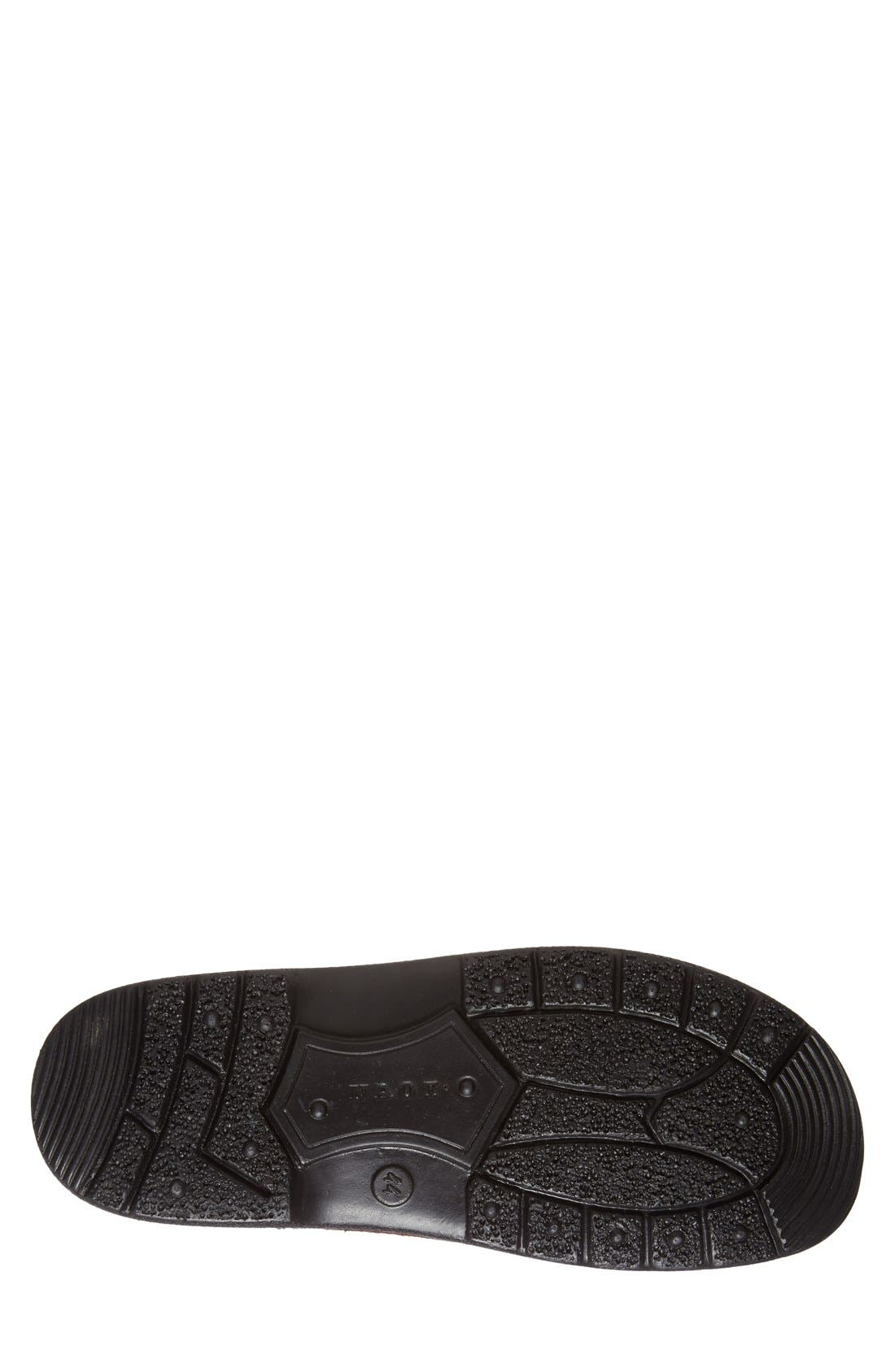 Denali Plain Toe Derby,                             Alternate thumbnail 4, color,                             Brown Leather