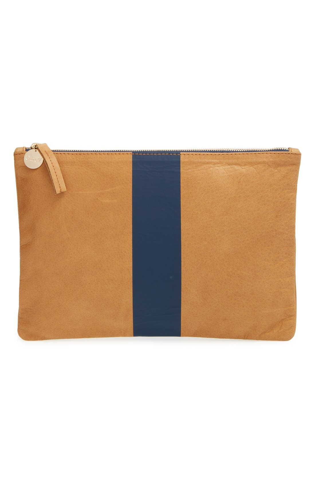 Alternate Image 1 Selected - Clare V. Flat Clutch