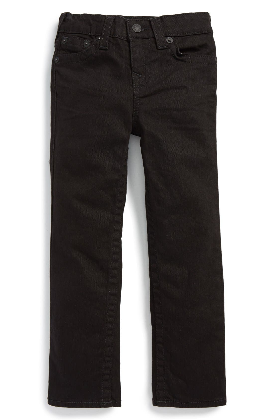 Alternate Image 1 Selected - True Religion Brand Jeans 'Geno' Relaxed Slim Fit Jeans (Toddler Boys & Little Boys)