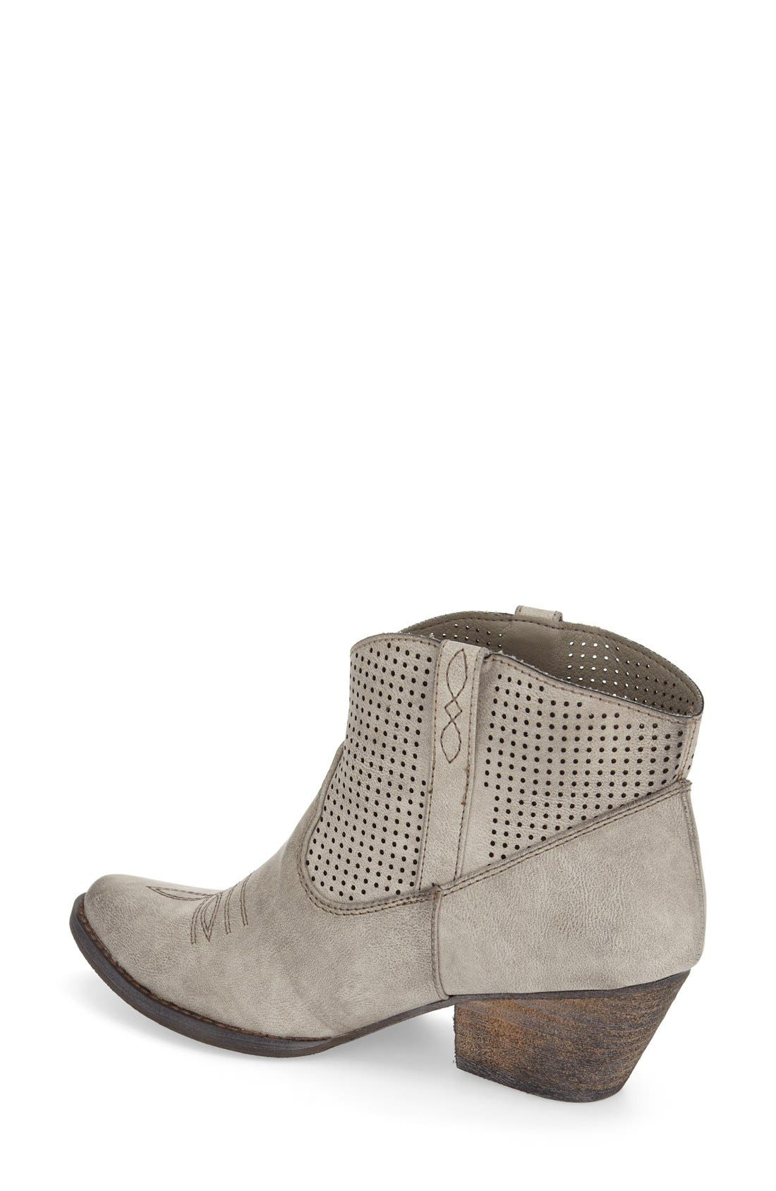 Alternate Image 2  - Very Volatile 'Mishka' Perforated Western Bootie (Women)