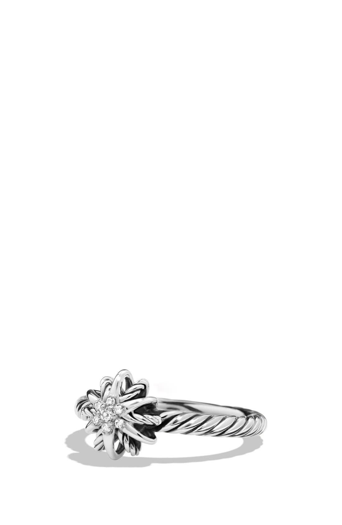DAVID YURMAN Starburst Ring with Diamonds