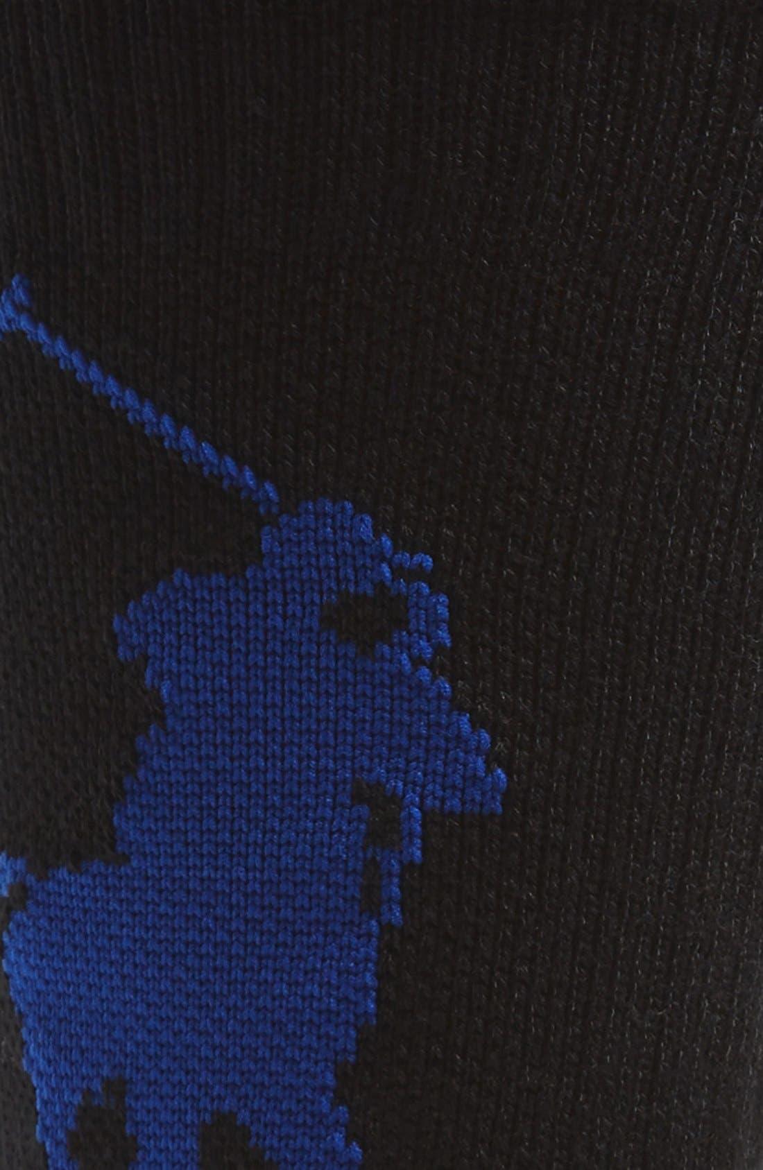 Alternate Image 2  - Polo Ralph Lauren Performance Crew Socks