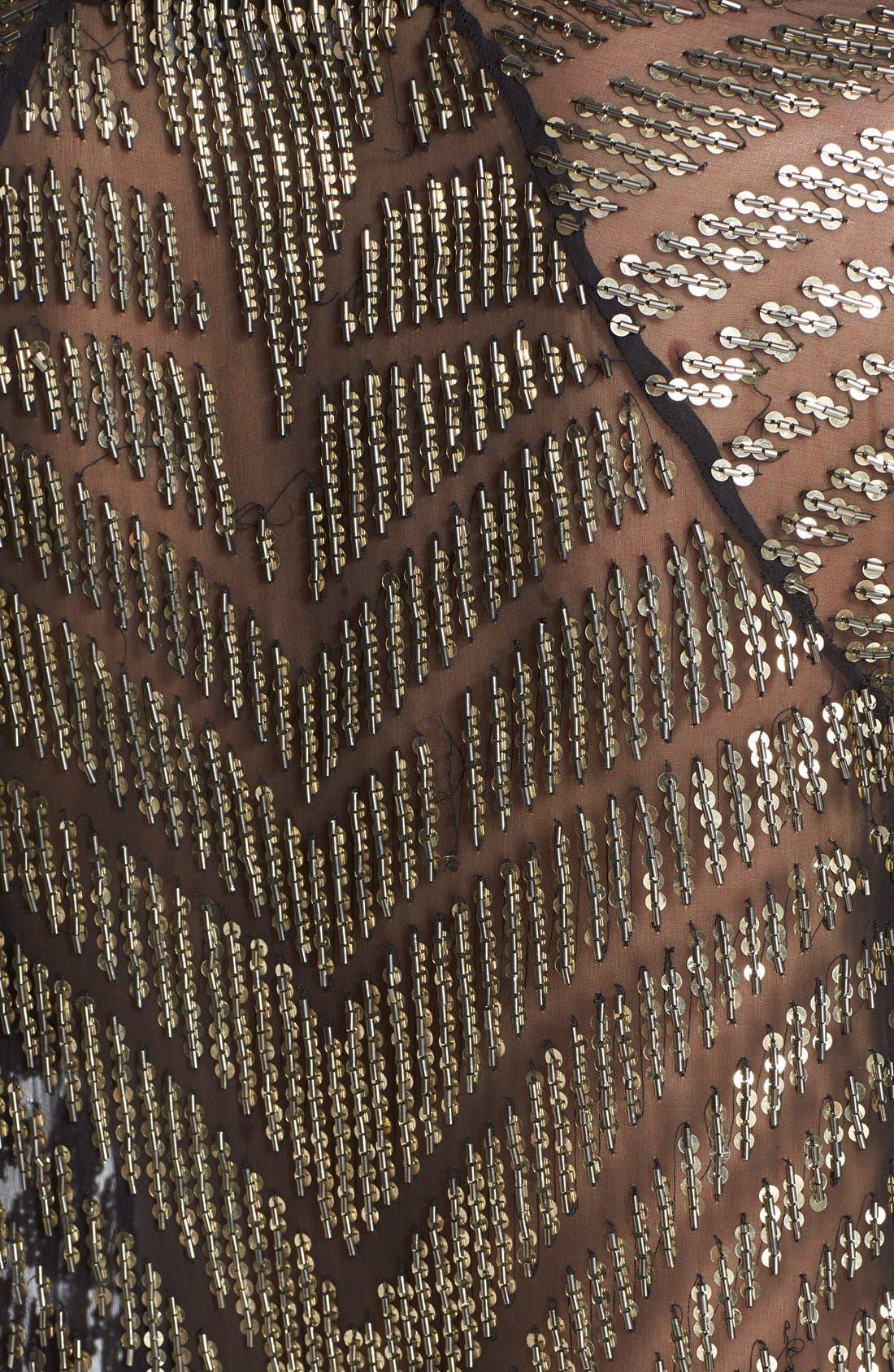 Alternate Image 3  - Parker 'Lucas' Sheer Embellished Silk Top