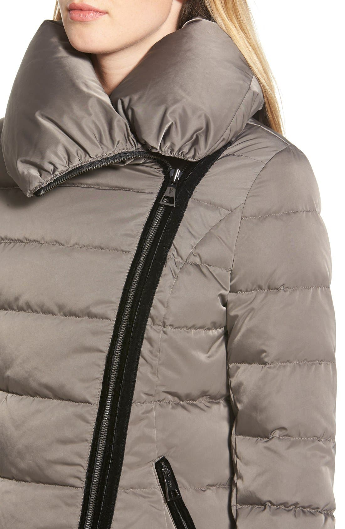 Alternate Image 3  - Vera Wang 'Blaire' Asymmetrical Quilted Coat