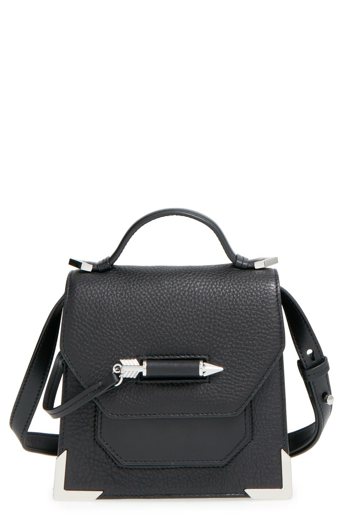Alternate Image 1 Selected - Mackage 'Mini Rubie' Crossbody Satchel