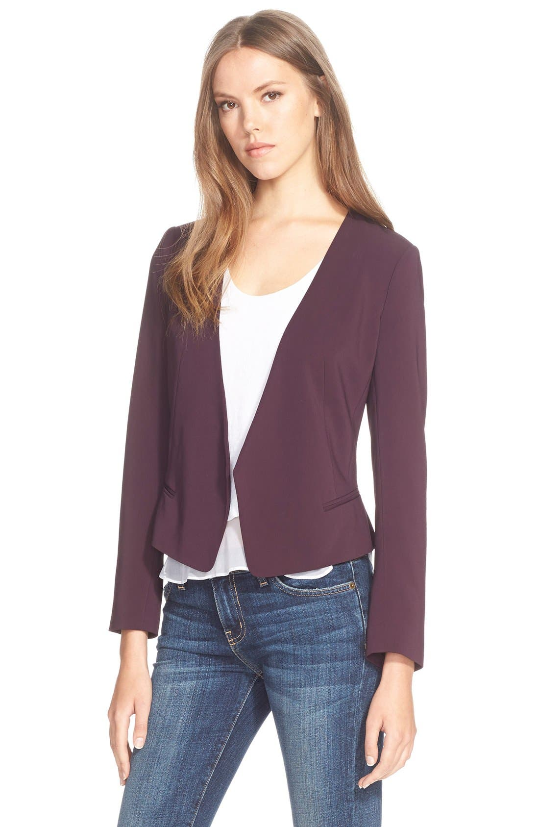 Alternate Image 1 Selected - Rebecca Taylor 'Refined' Suiting Blazer