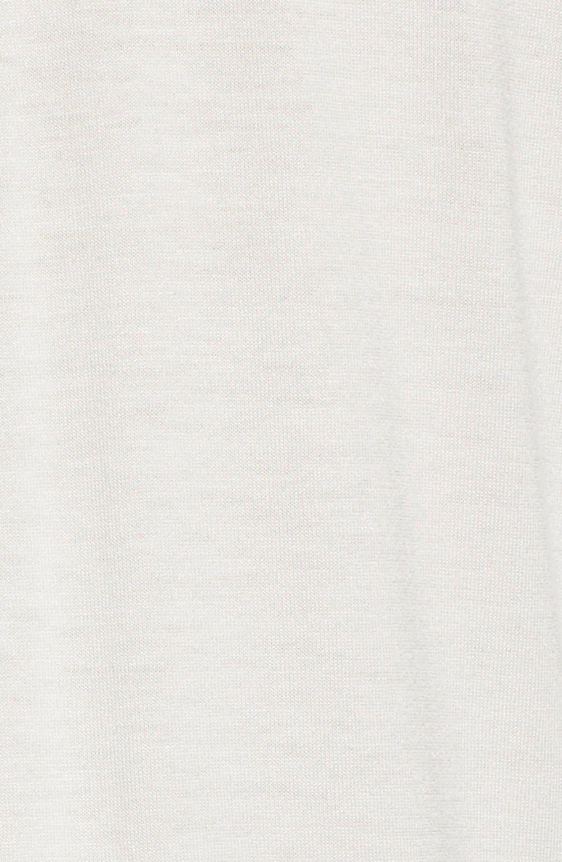 Alternate Image 5  - Pink Tartan Silk Trim Jersey Shirt