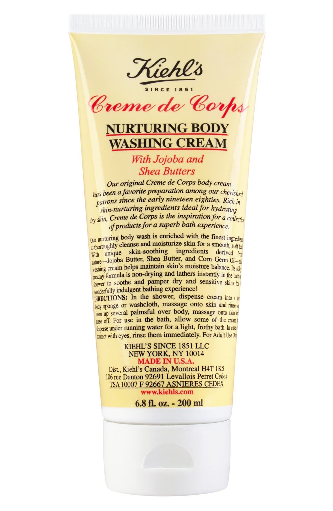 Kiehl's Since 1851 'Creme de Corps' Nurturing Body Washing Cream