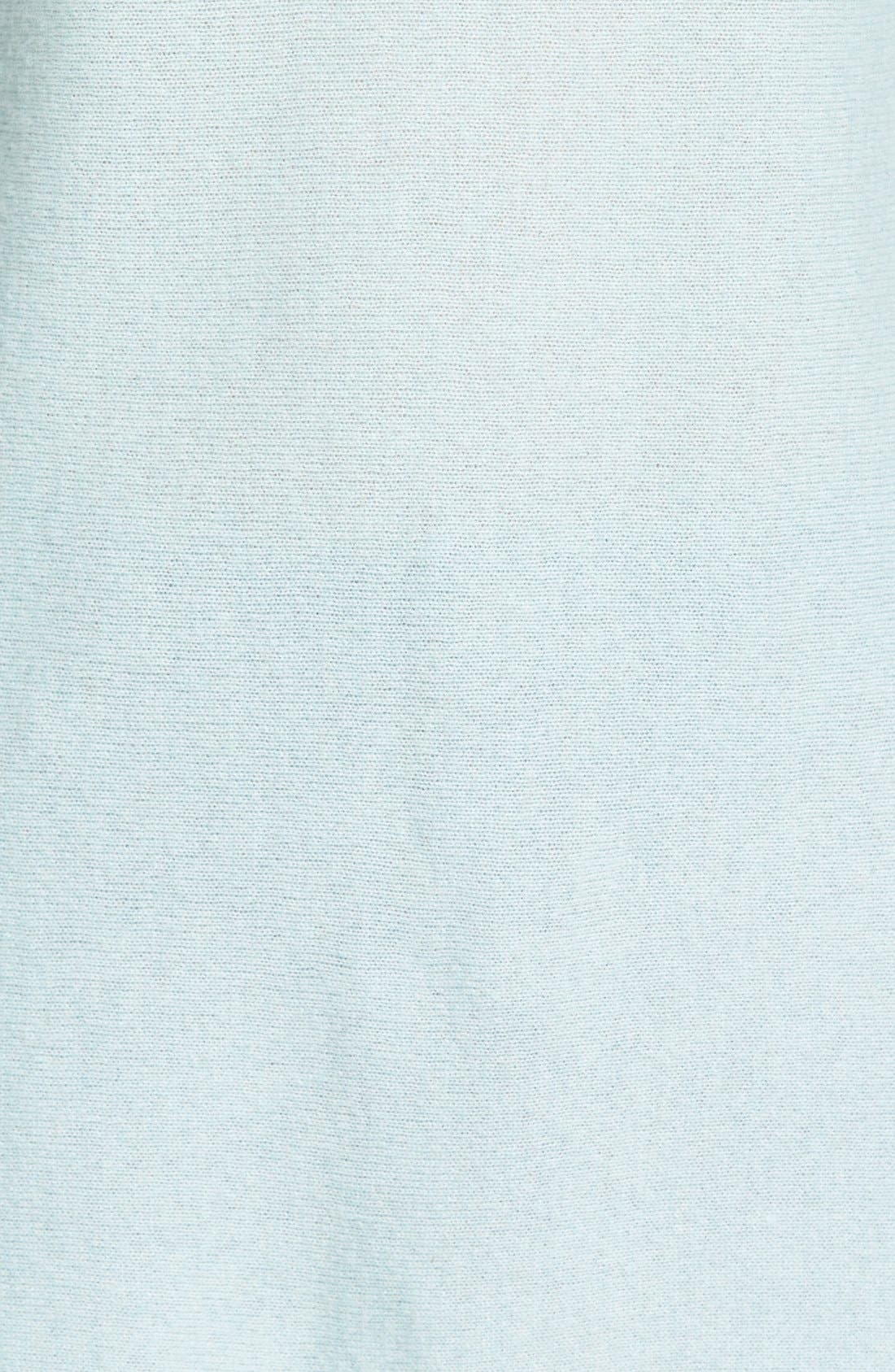 Alternate Image 5  - Caslon® Cashmere Tunic (Regular & Petite)