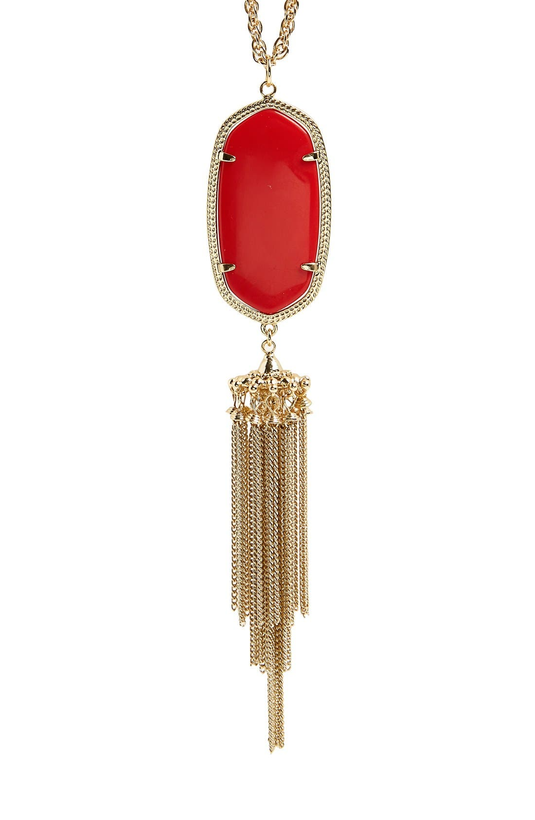 Alternate Image 2  - Kendra Scott 'Rayne' Tassel Pendant Necklace