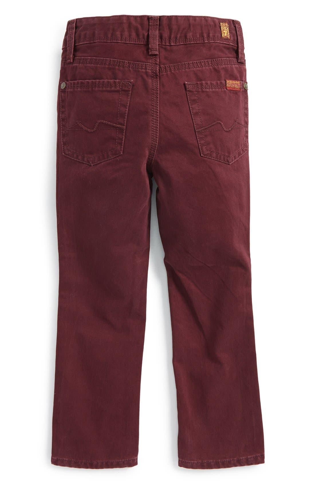 Alternate Image 2  - 7 For All Mankind® 'Slimmy' Slim Fit Jeans (Toddler Boys & Little Boys) (Online Only)