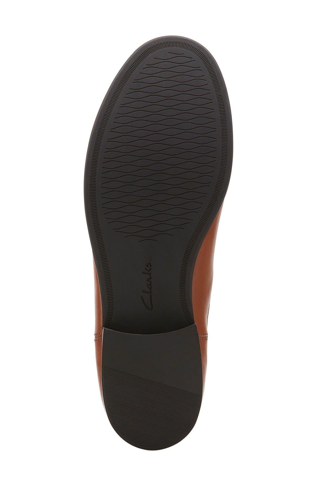 Alternate Image 4  - Clarks® 'Pita Sedona' Chelsea Boot (Women)