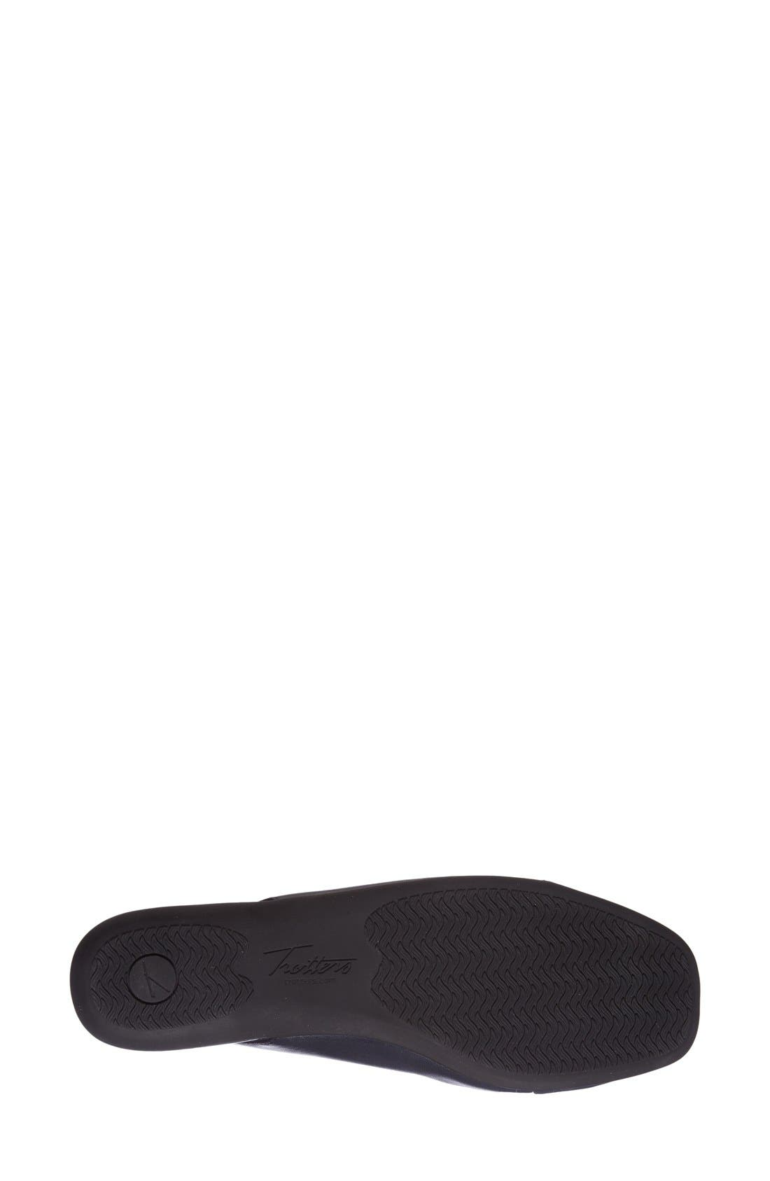 'Sarina' SlingbackFlat,                             Alternate thumbnail 2, color,                             Navy Leather
