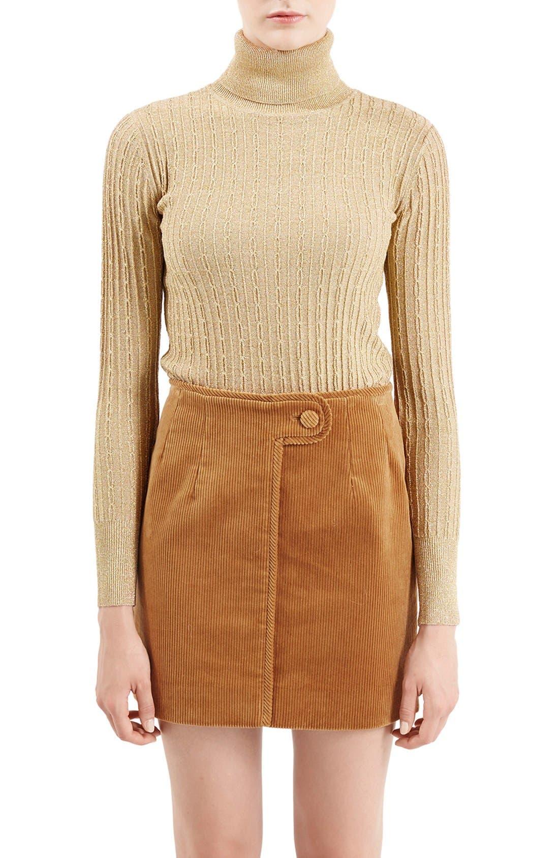Alternate Image 8  - TopshopUnique 'Huntly' Turtleneck Sweater