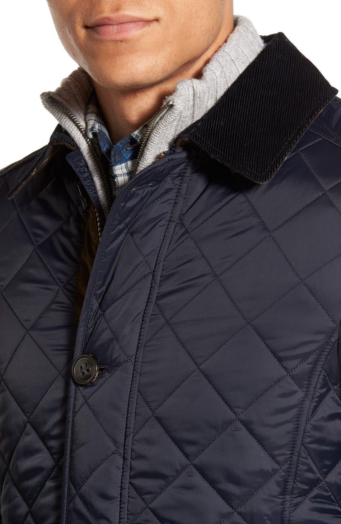 Alternate Image 4  - Barbour 'Fortnum' Regular Fit Quilted Jacket