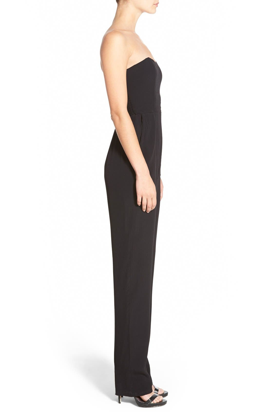 Alternate Image 3  - WAYF Strapless Jumpsuit