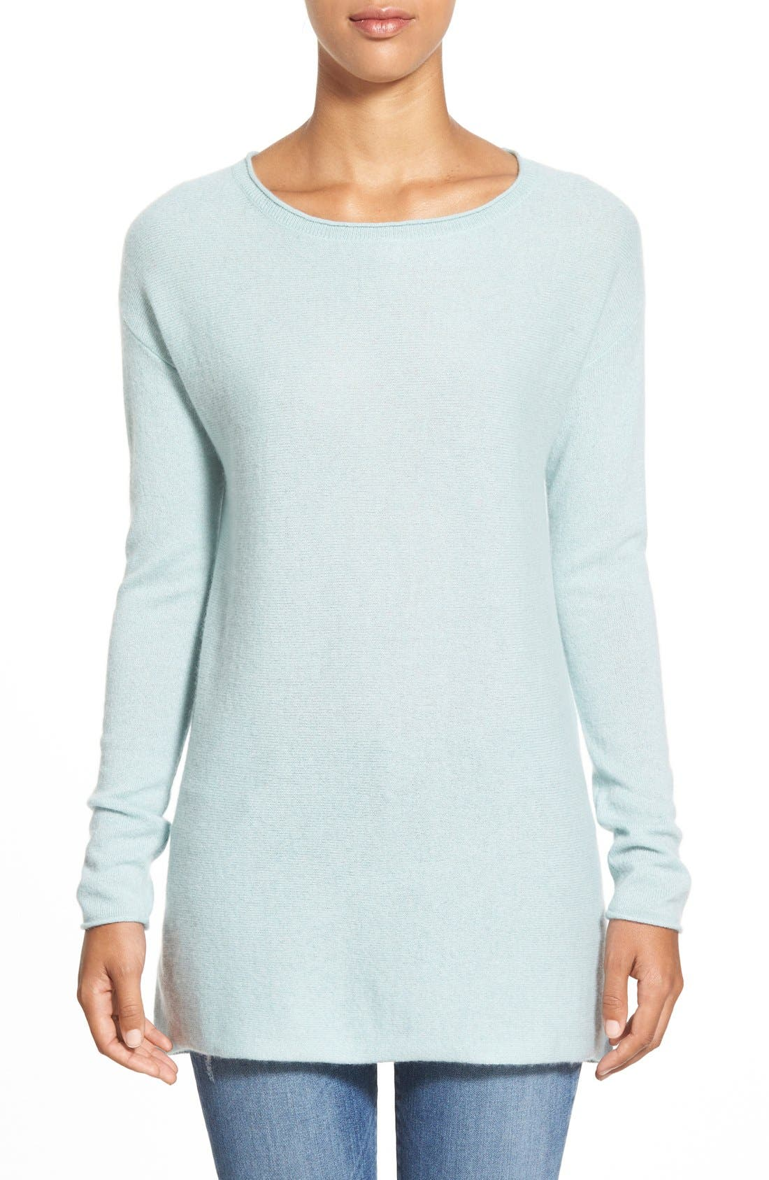Alternate Image 1 Selected - Caslon® Cashmere Tunic (Regular & Petite)