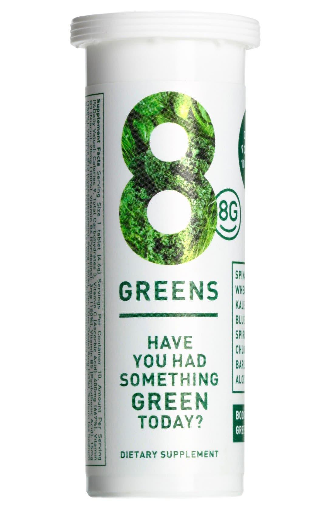 Greens Dietary Supplement,                             Main thumbnail 1, color,                             No Color