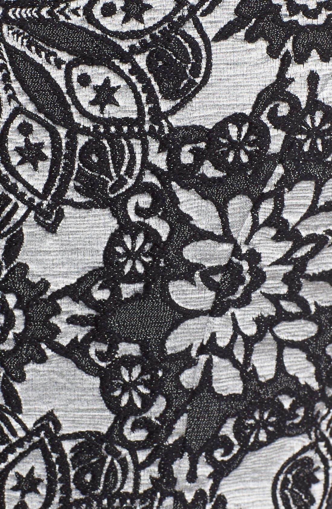 Alternate Image 6  - Betsey Johnson Floral Fit & Flare Dress