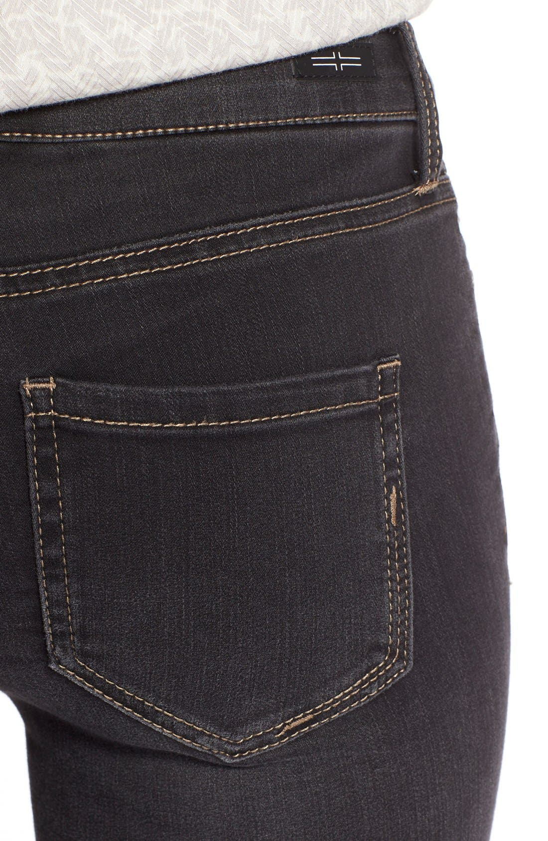 Abby StretchSkinny Jeans,                             Alternate thumbnail 4, color,                             Sulphur