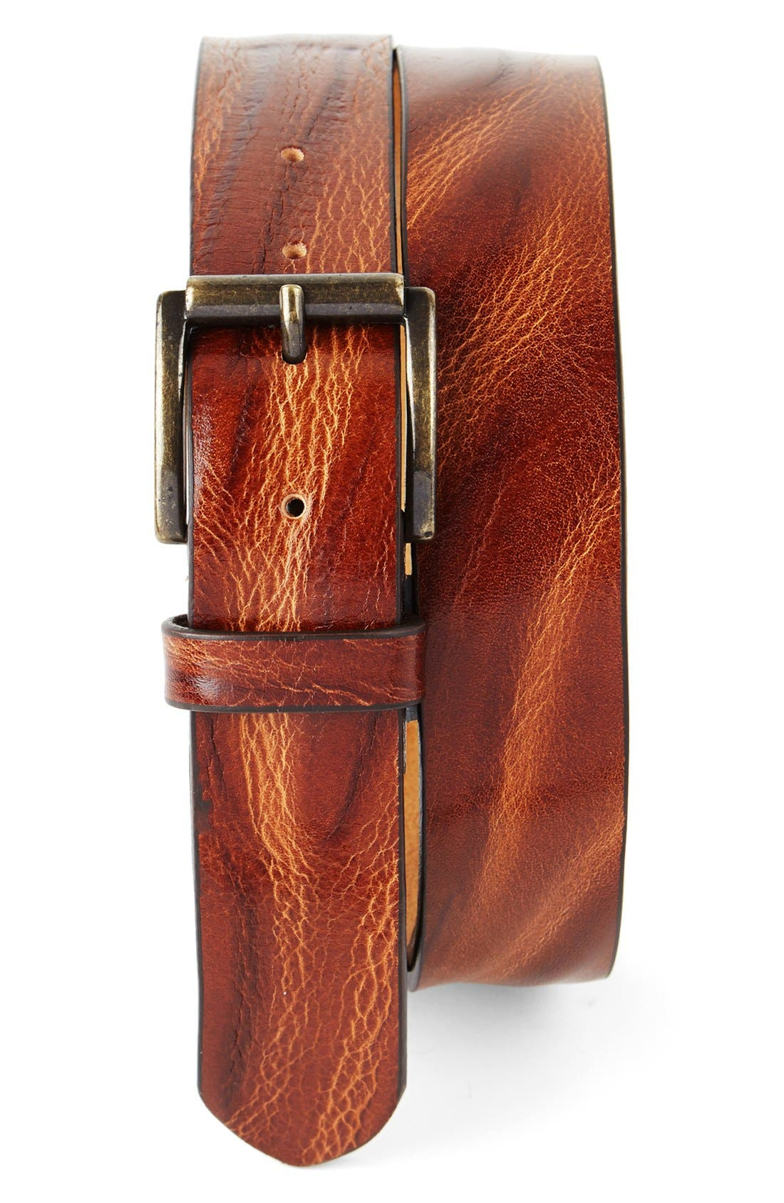 Alternate Image 1 Selected - Tommy Bahama Leather Belt