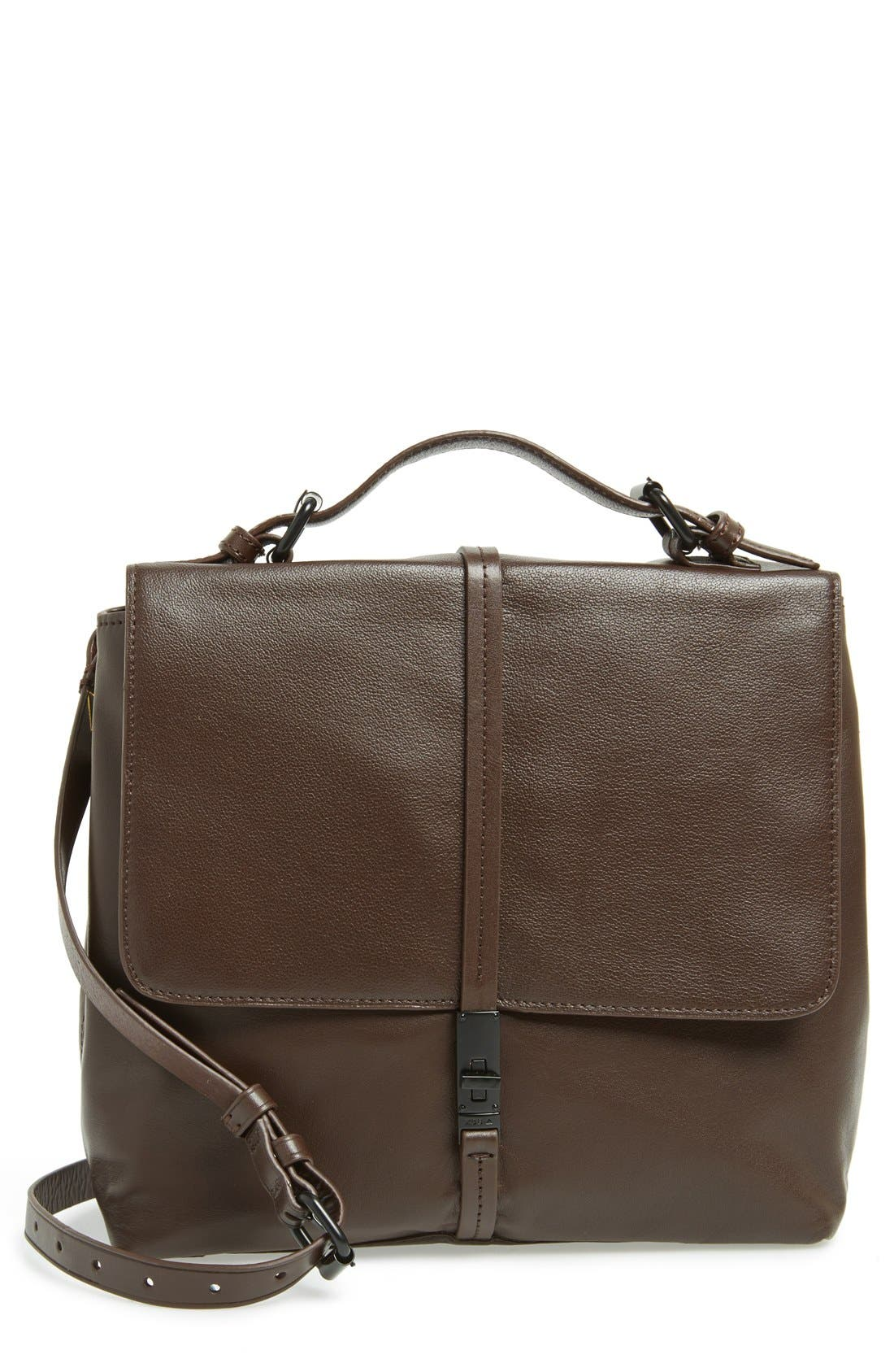 Kelsi Dagger Brooklyn 'Transit' Suede & Leather Messenger Bag ...