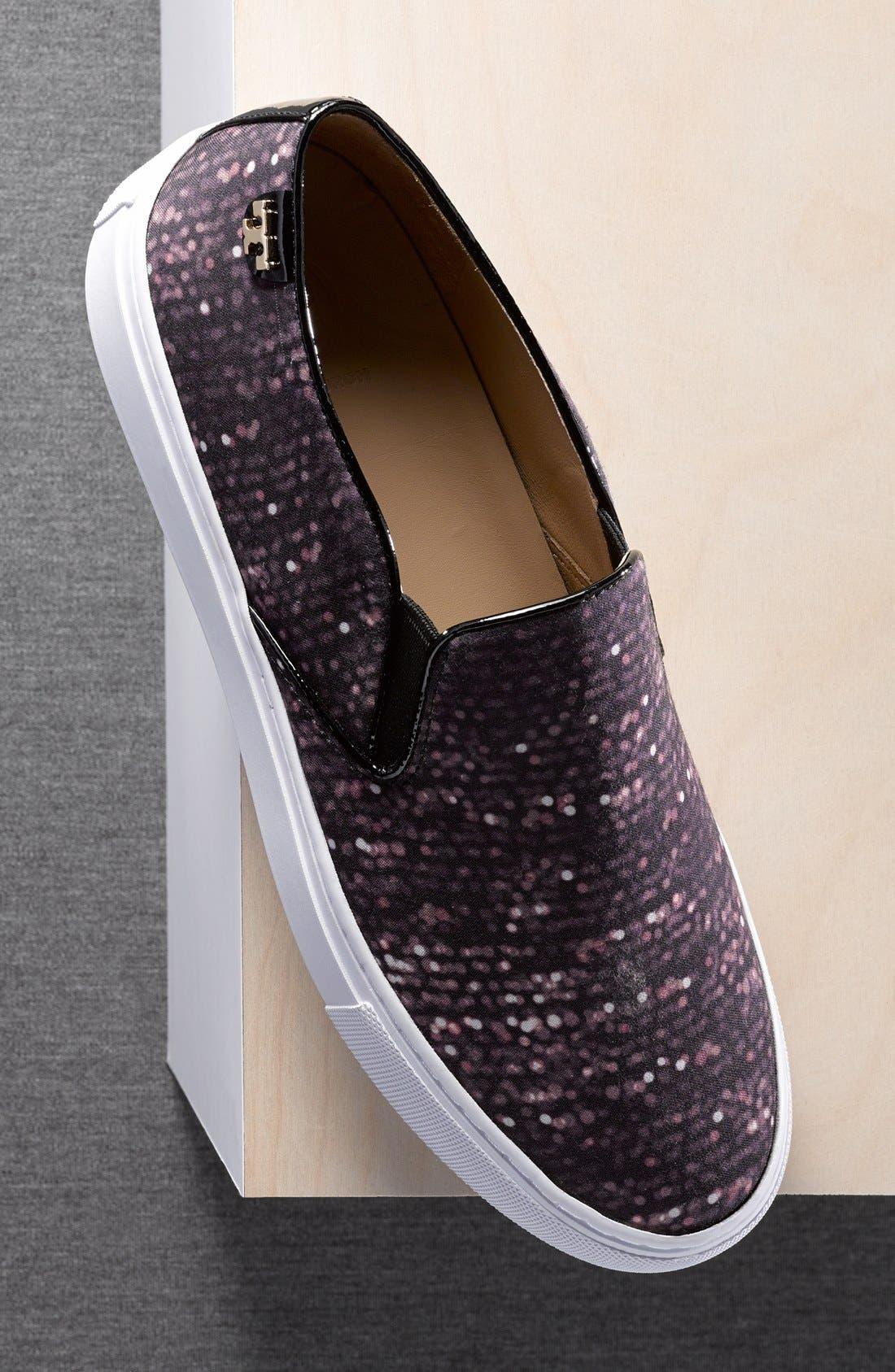 Alternate Image 5  - Tory Burch Print Slip-On Sneaker (Women)