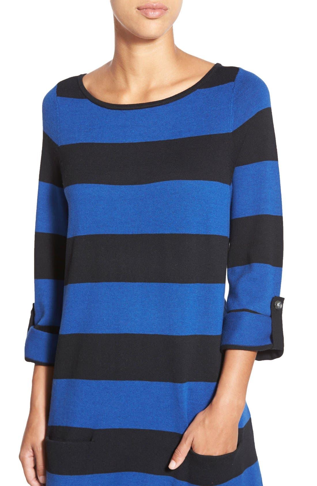 Alternate Image 4  - Caslon® Knit Tunic (Regular & Petite)