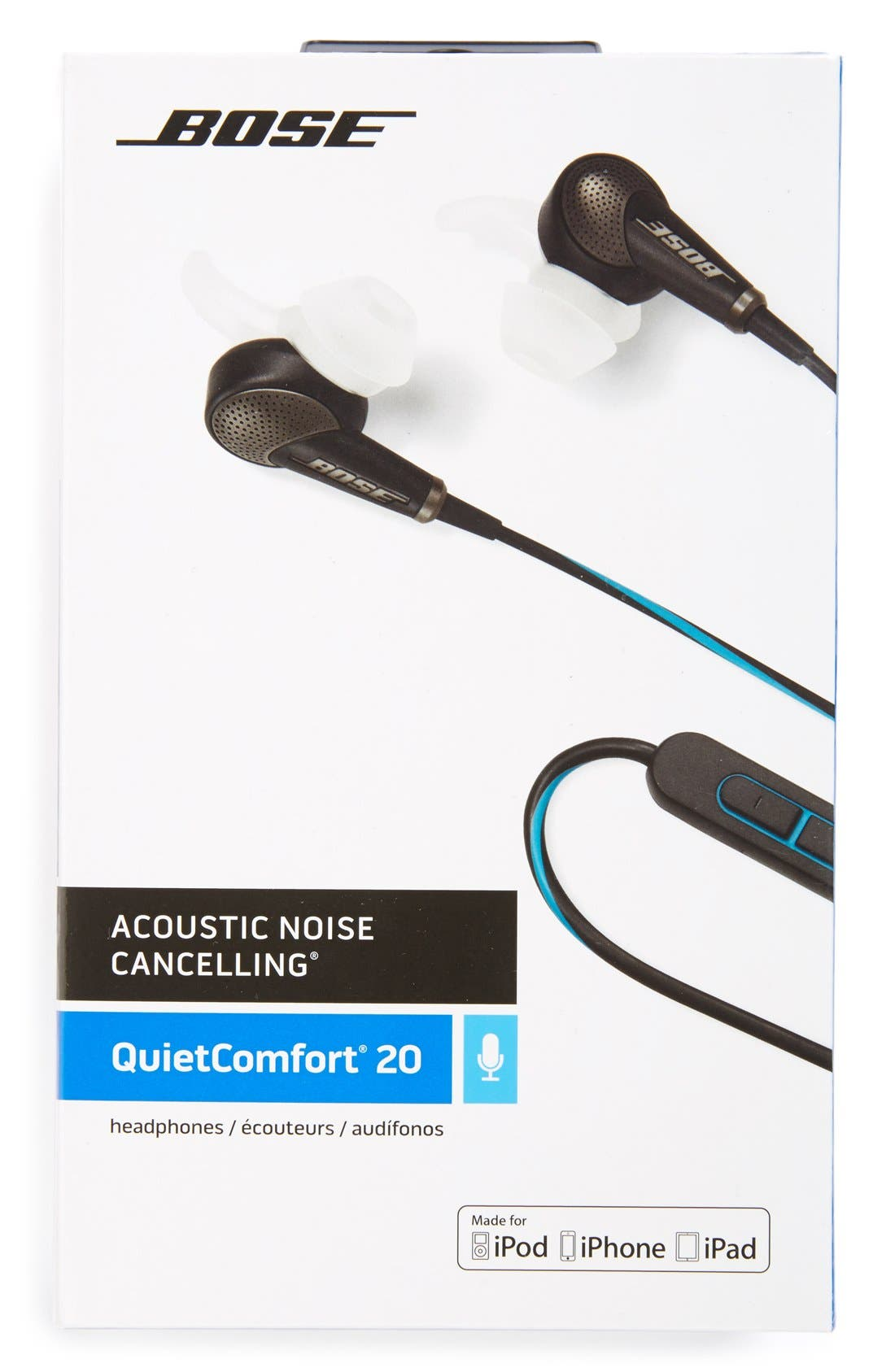 QuietComfort<sup>®</sup> 20 Acoustic Noise Cancelling<sup>®</sup> Headphones,                             Alternate thumbnail 9, color,                             Black