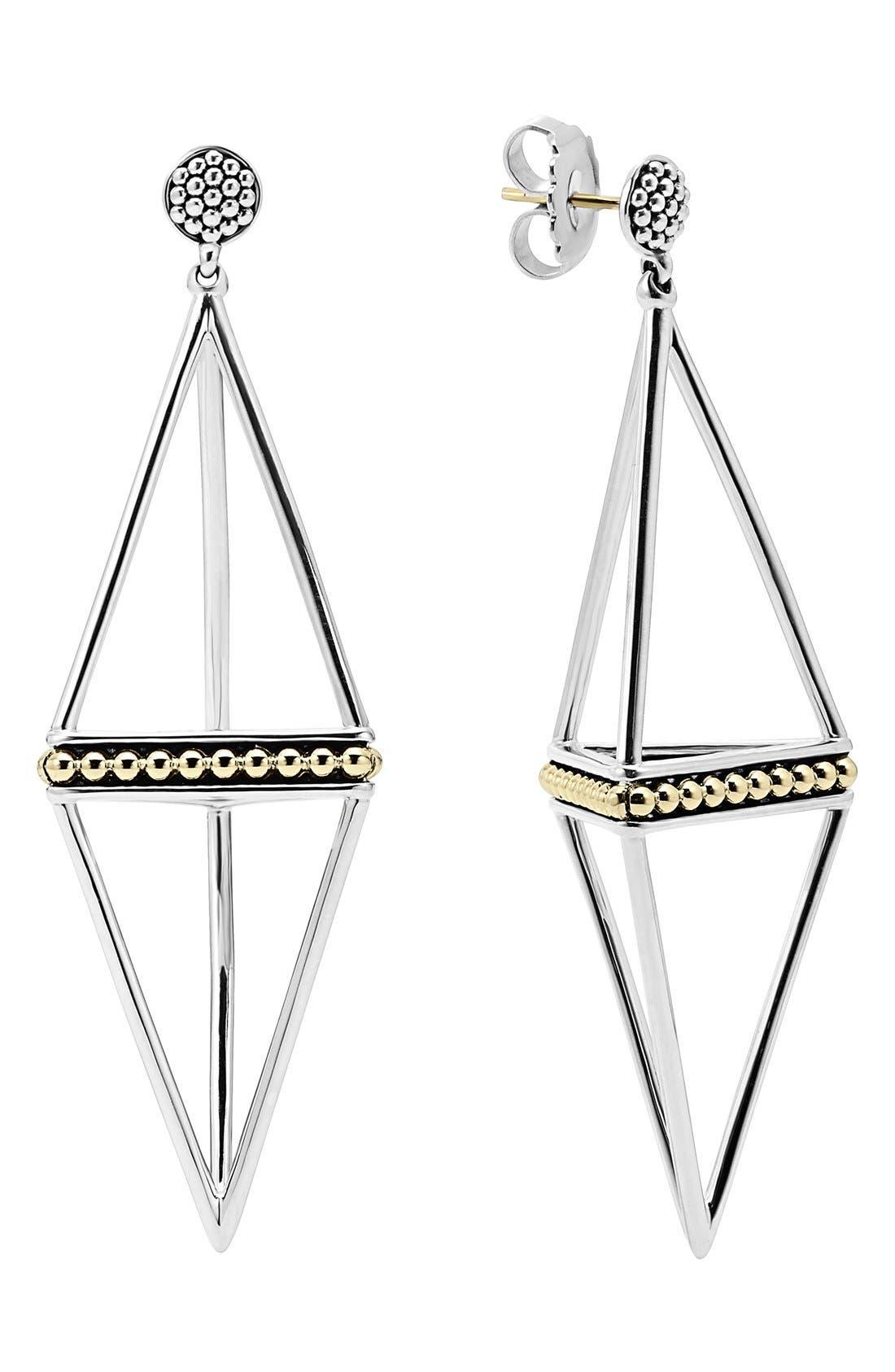 Alternate Image 1 Selected - LAGOS 'KSL' Pyramid Drop Earrings