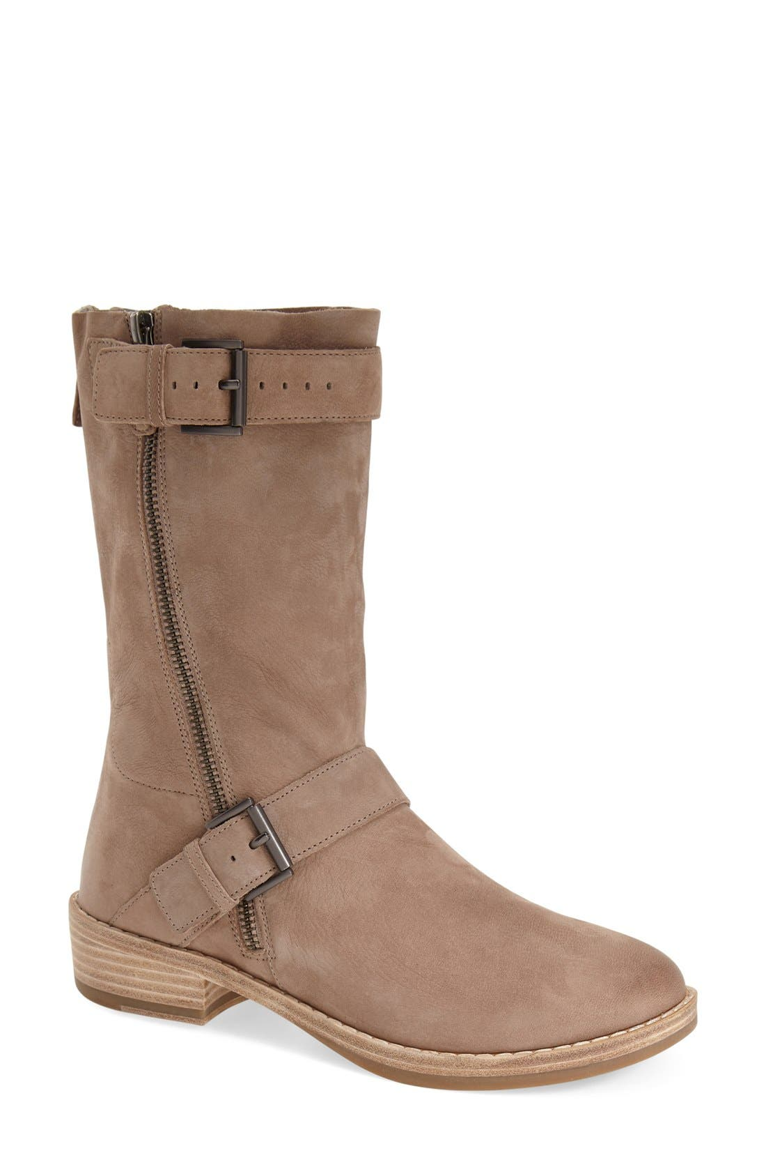 'Log' Boot,                         Main,                         color, Earth Leather