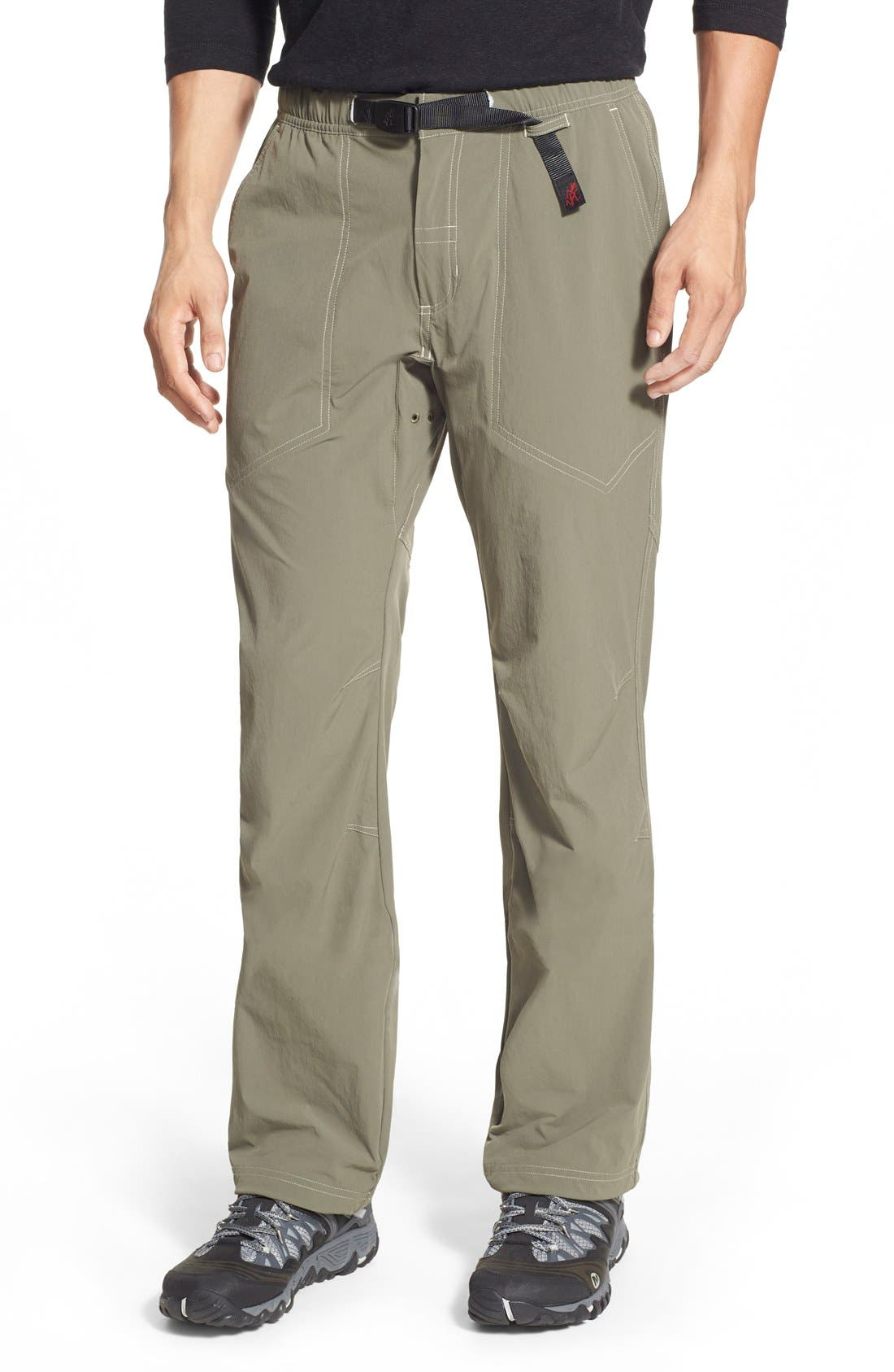 'River G' Stretch Twill,                         Main,                         color, Bungee Cord