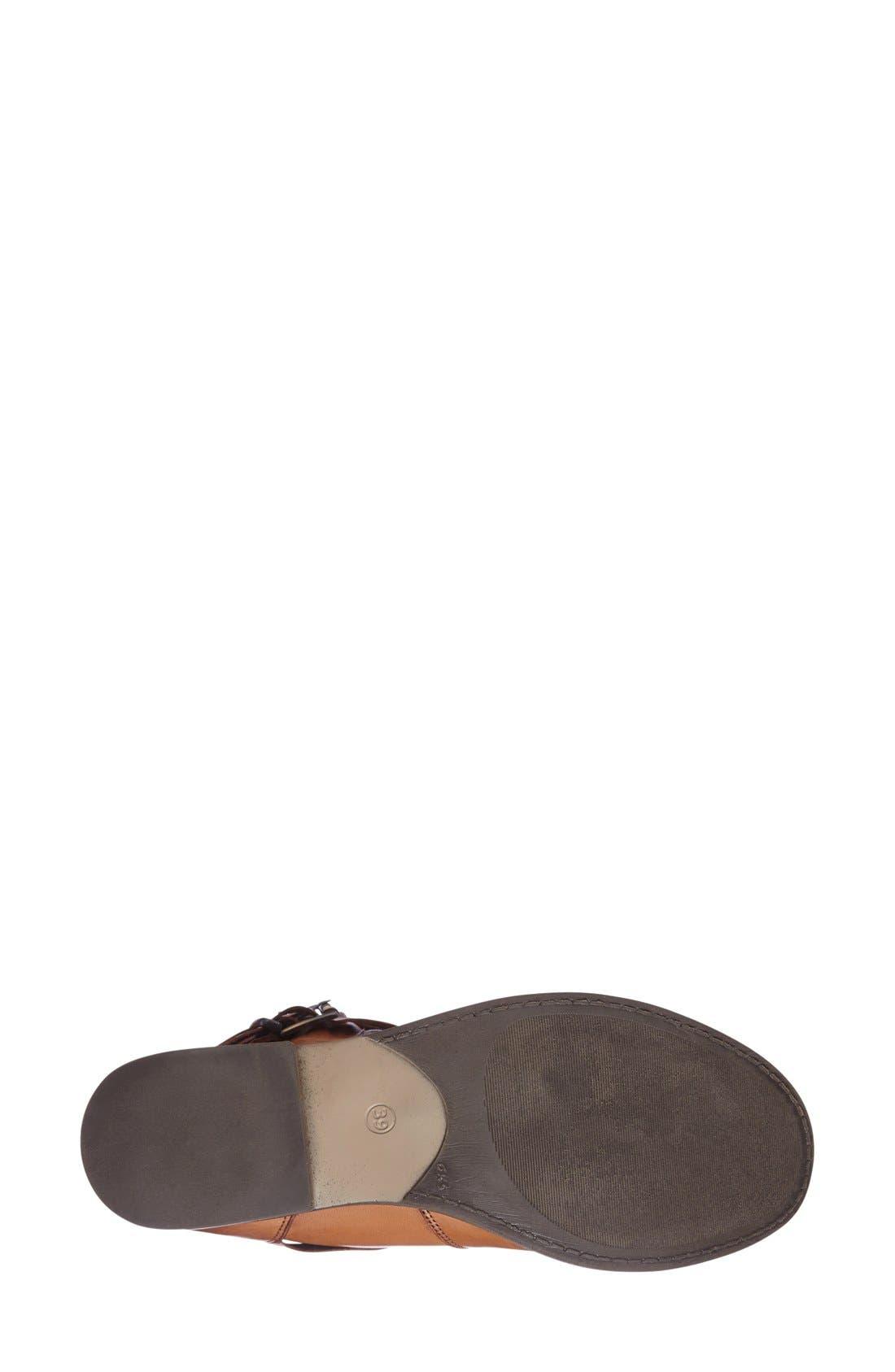 Alternate Image 4  - Miz Mooz 'Clang' Leather Moto Bootie (Women)