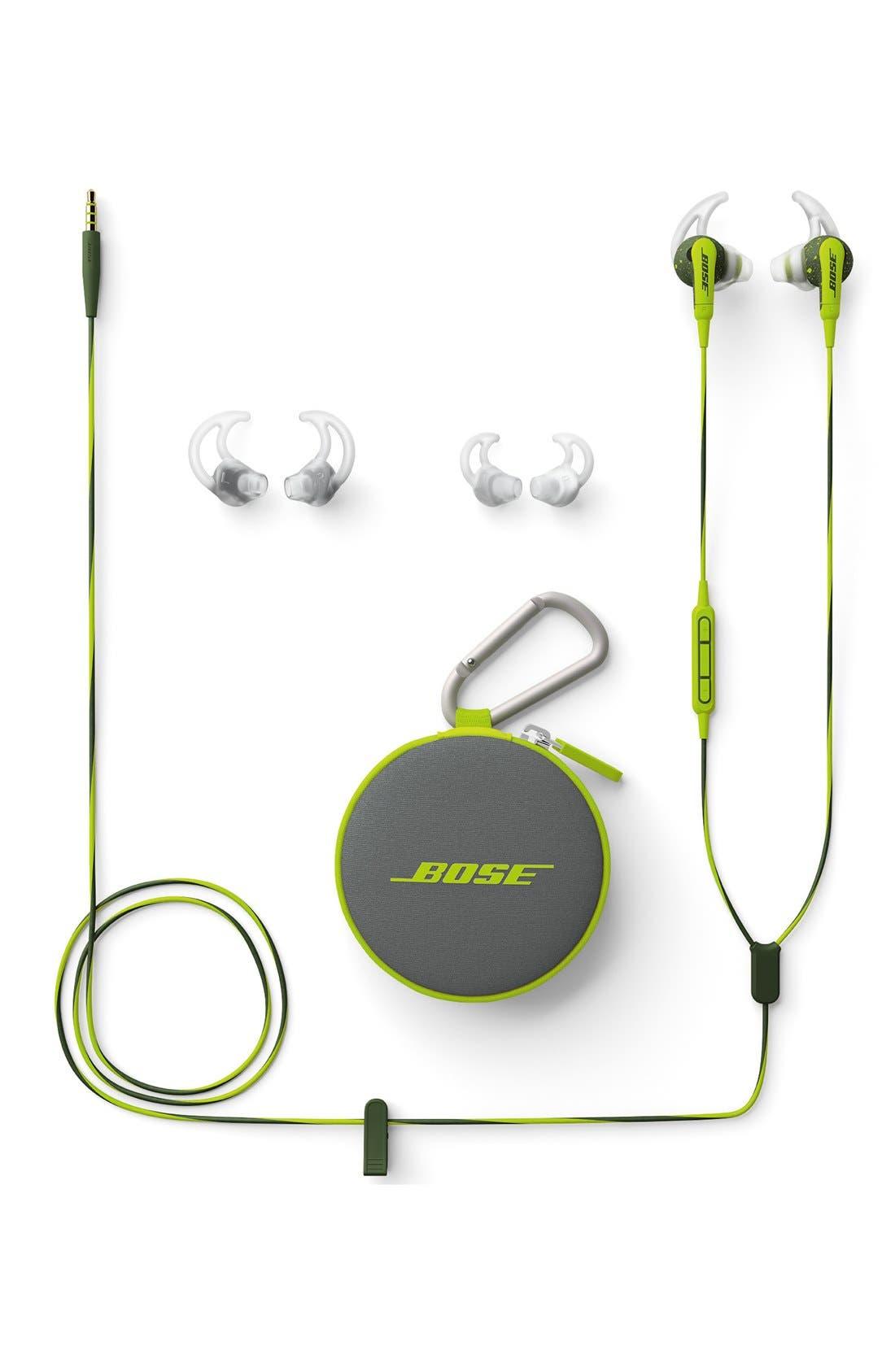 SoundSport<sup>®</sup> In-Ear Headphones,                             Alternate thumbnail 4, color,                             Energy Green