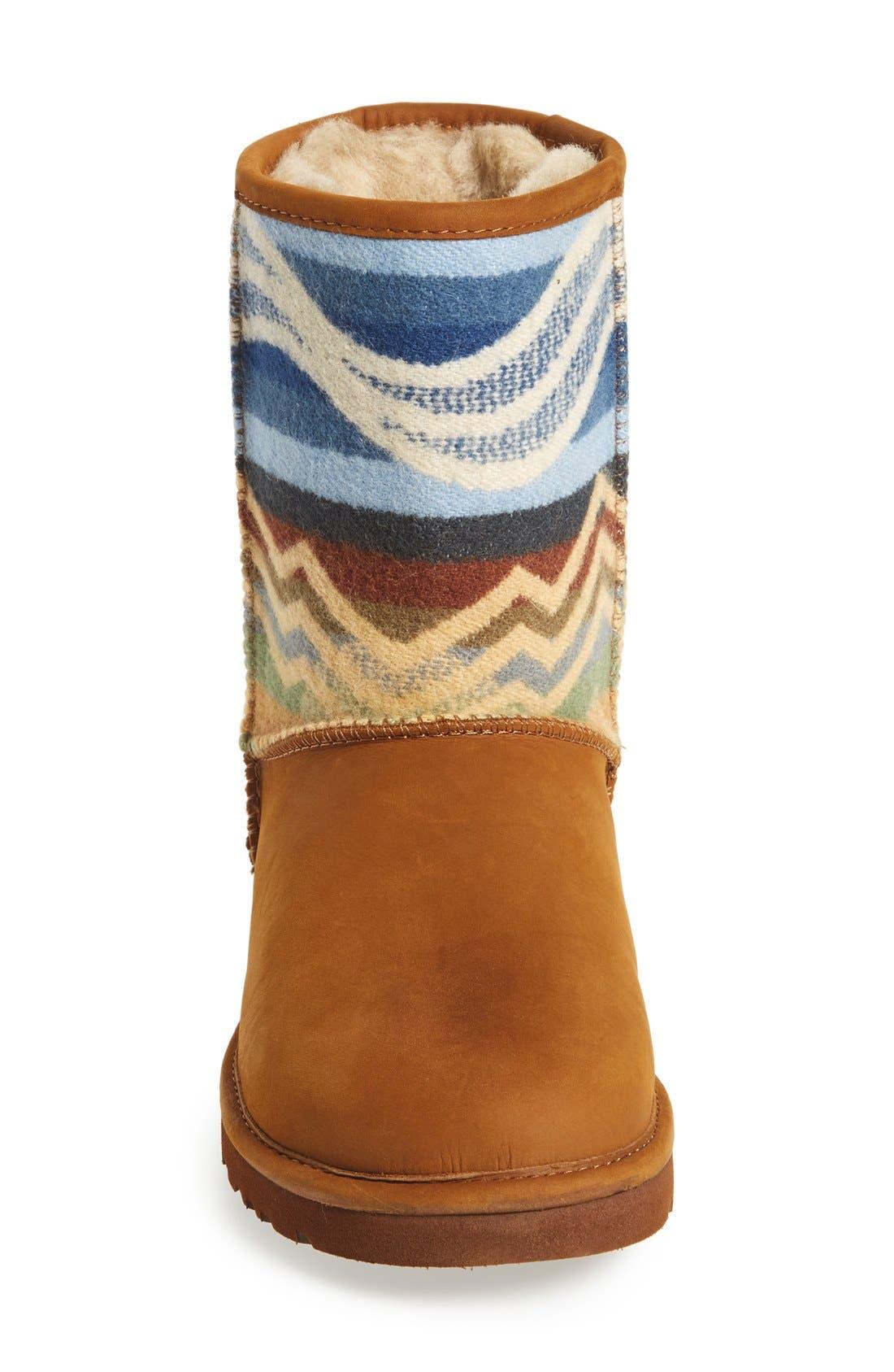 Alternate Image 3  - UGG® 'Classic ShortPendleton'Boot (Women)