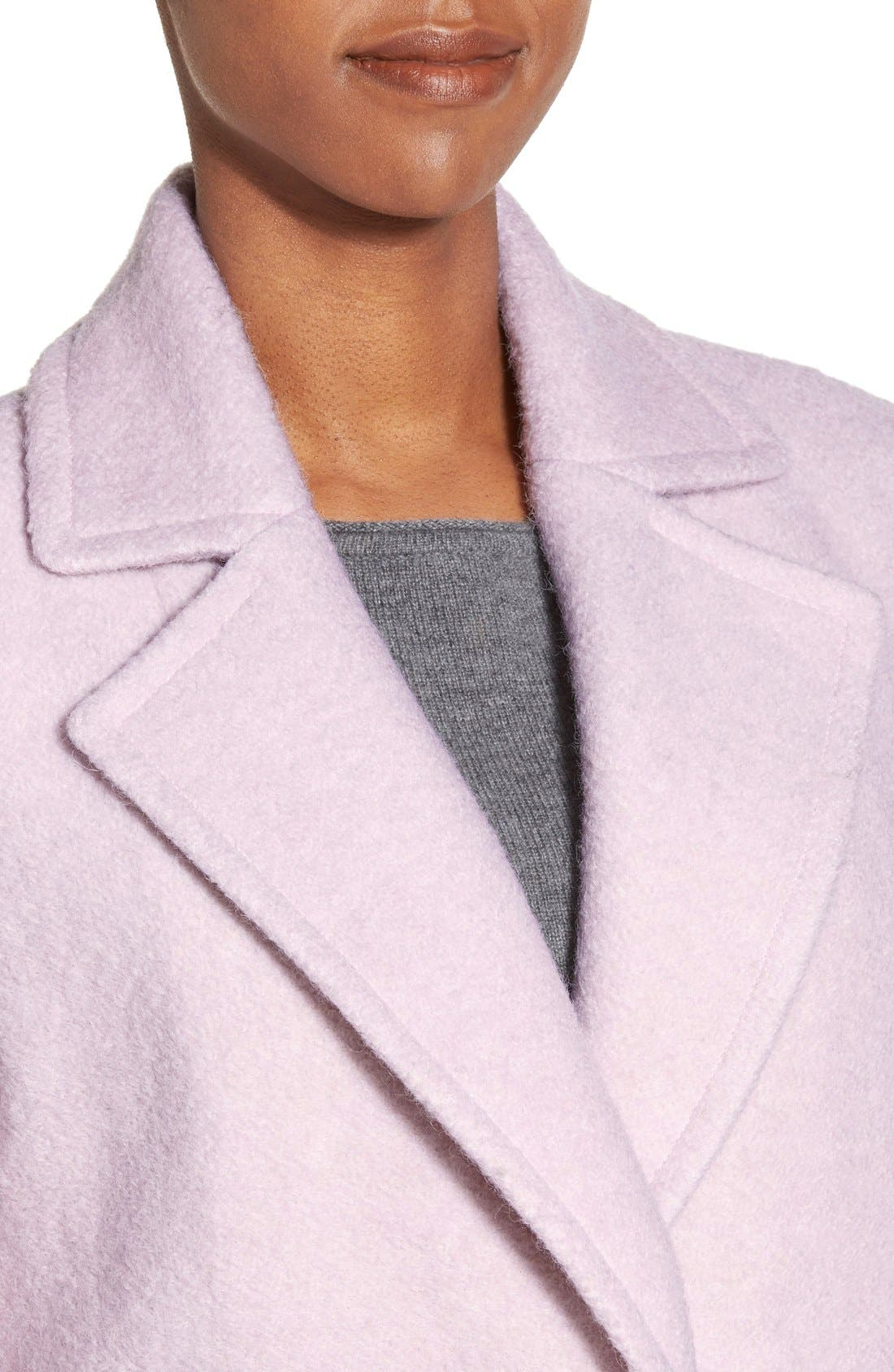 Alternate Image 8  - Calvin Klein Blouclé Walking Coat